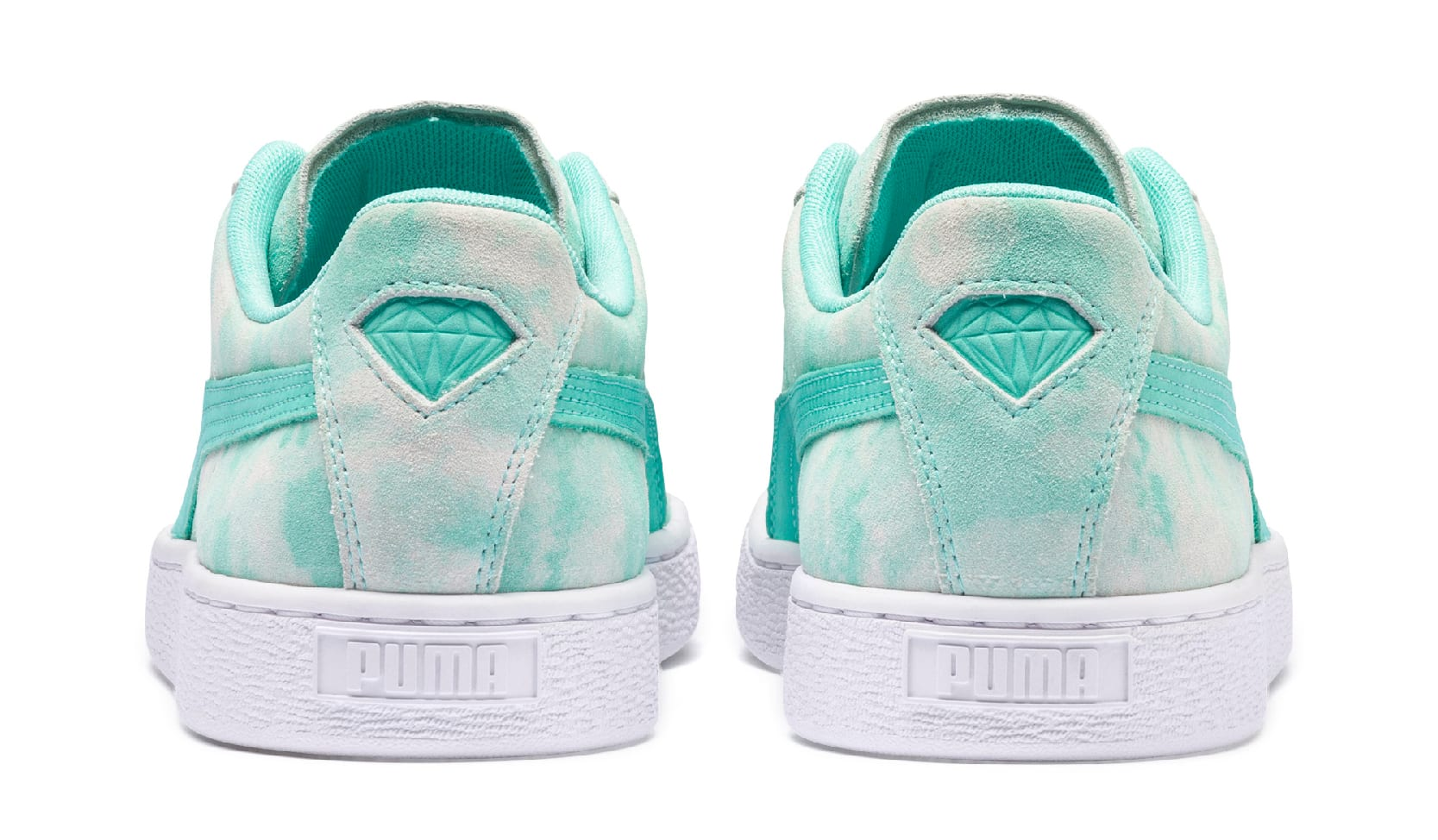 Diamond Supply Co. x Puma Suede 369396 (Heel)