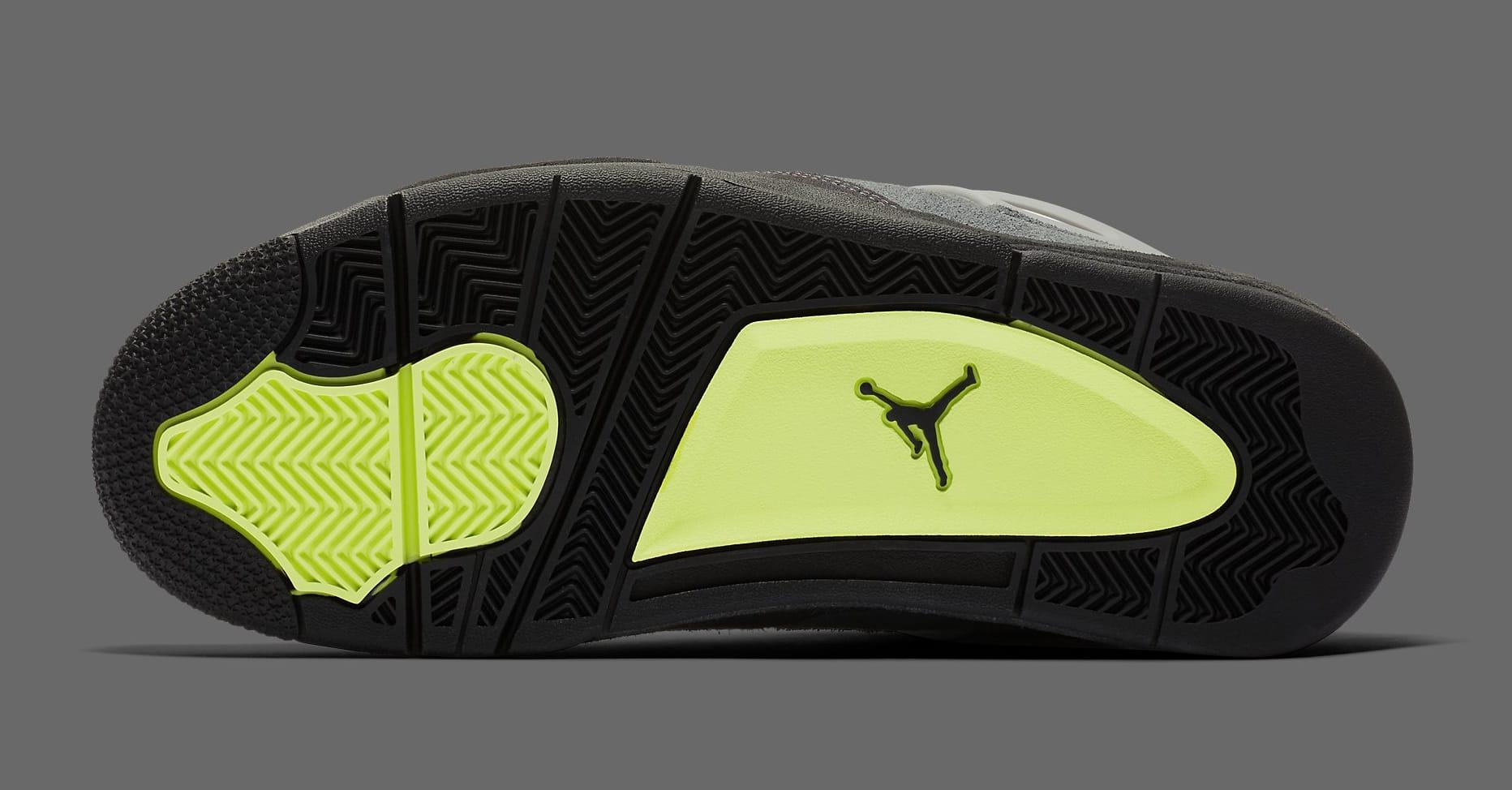 Air Jordan 4 Retro 'Neon' CT5342-007 Outsole