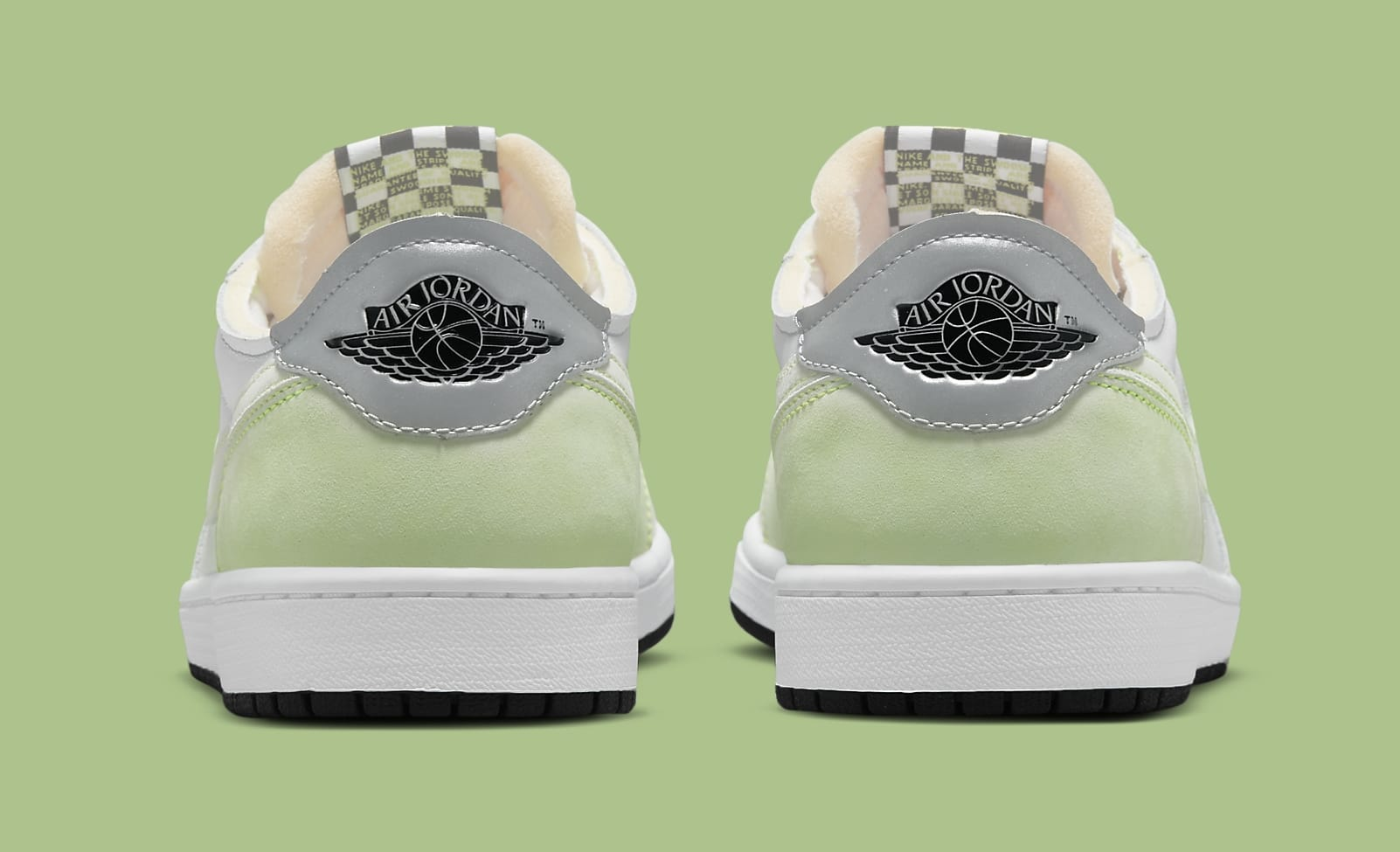 Air Jordan 1 Low OG 'Ghost Green' DM7837-103 Heel