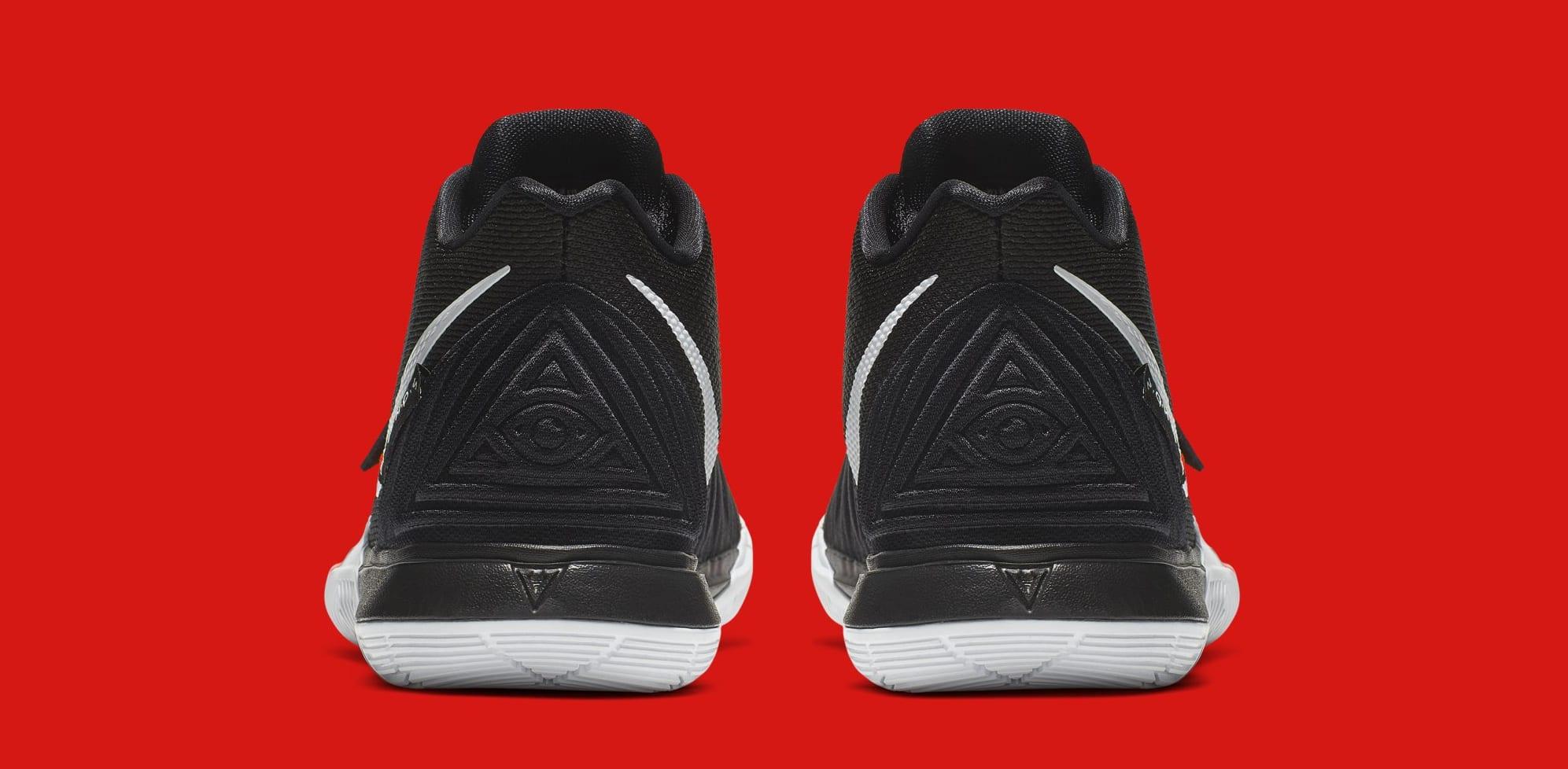 f83b254ae27 Image via Nike Nike Kyrie 5  Friends  AQ2456-006 (Heel)