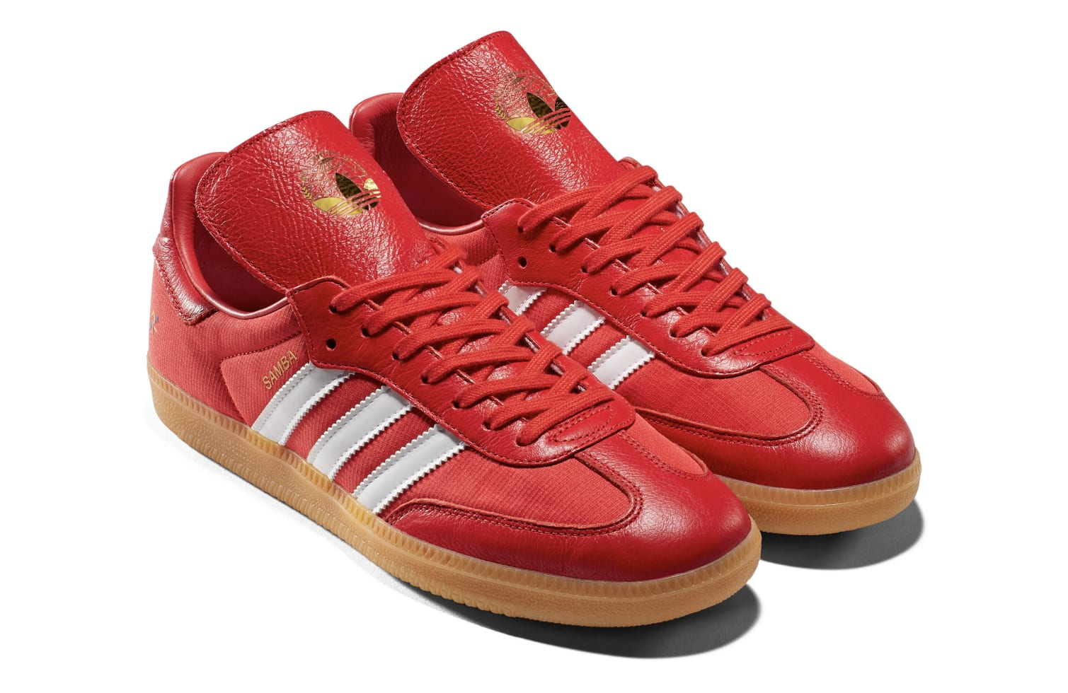 Oyster Holdings x Adidas Samba OG 'Red' G26700