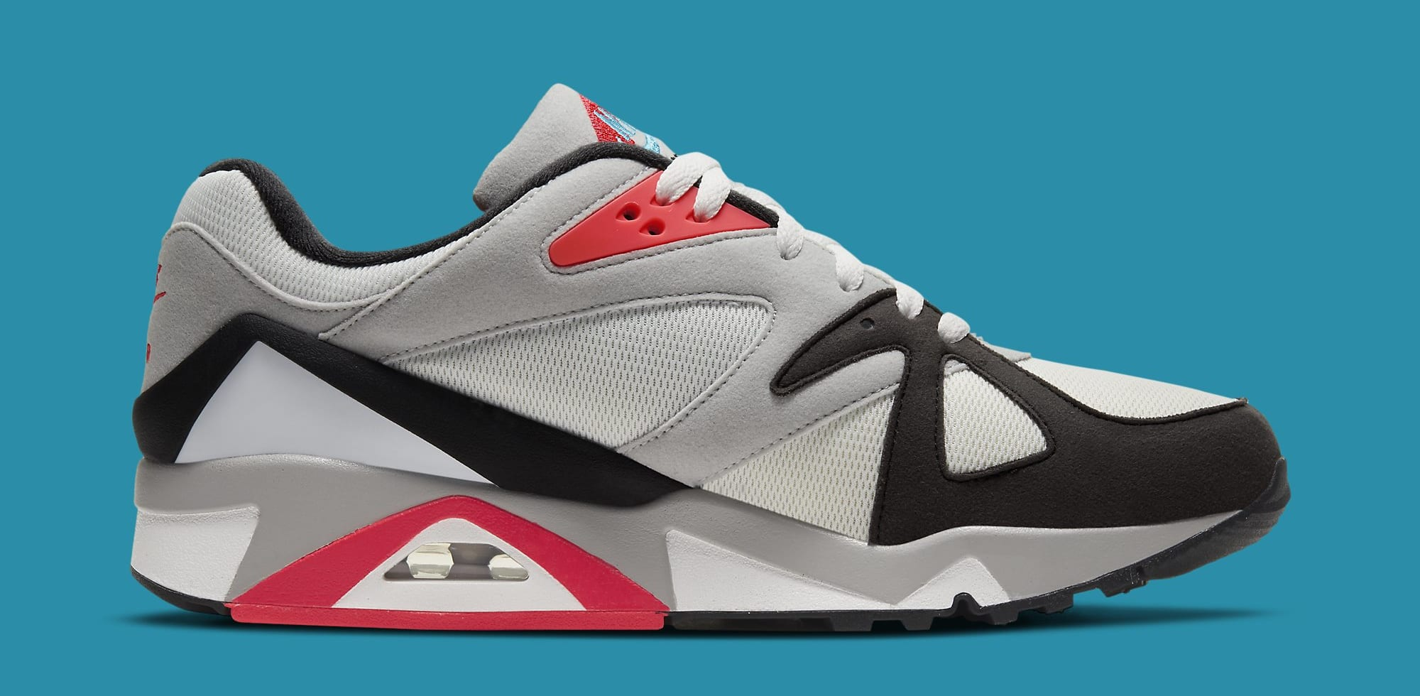 Nike Air Structure Triax 91 'Neo Teal/Infrared' CV3492-100 Medial