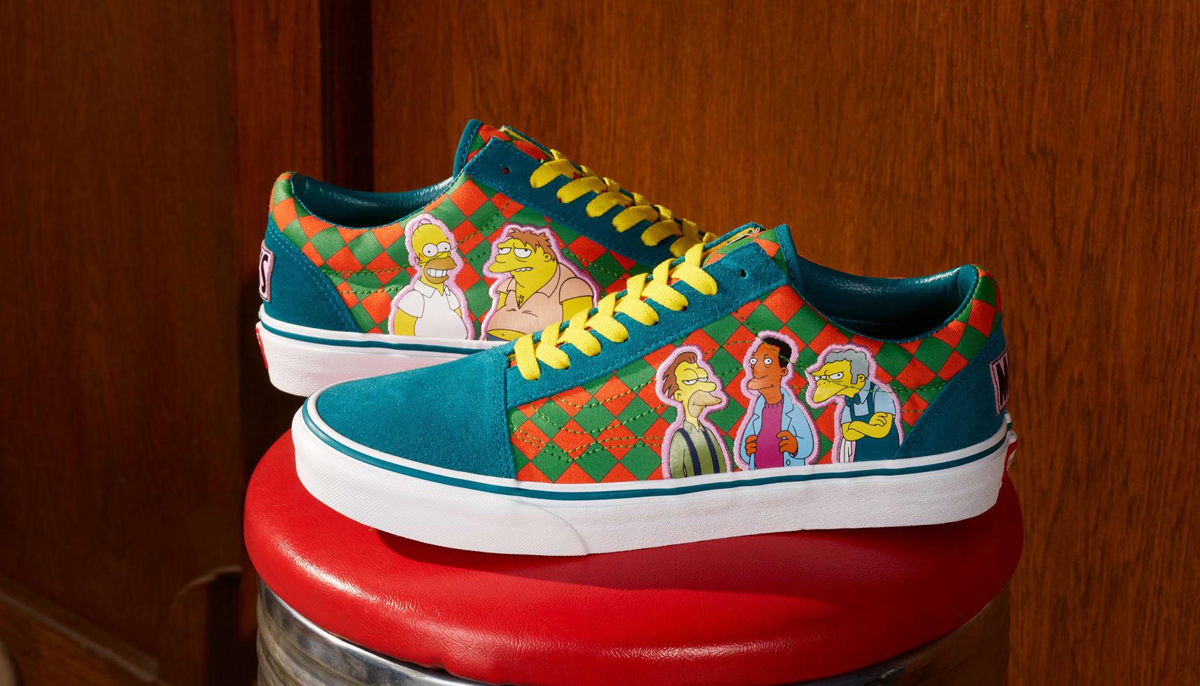 The Simpsons x Vans Old-Skool