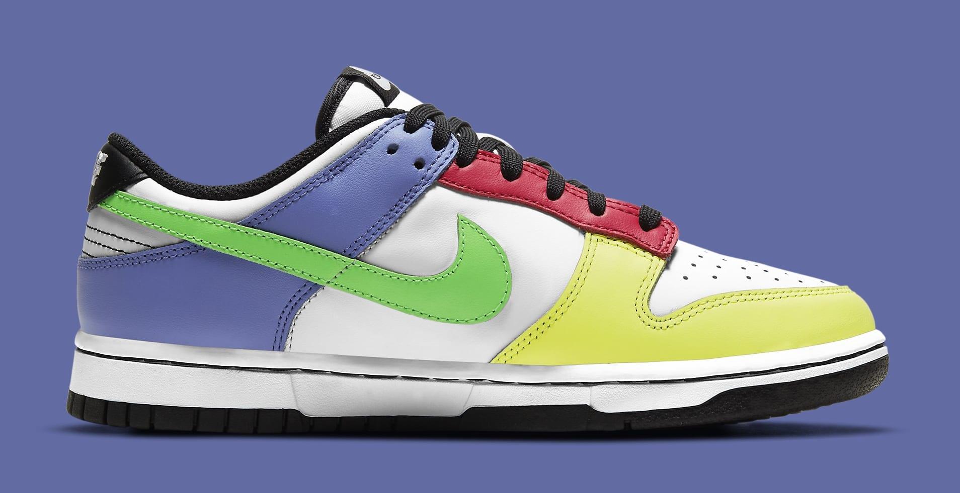 Nike Dunk Low Women's 'Green Strike' DD1503-106 Medial