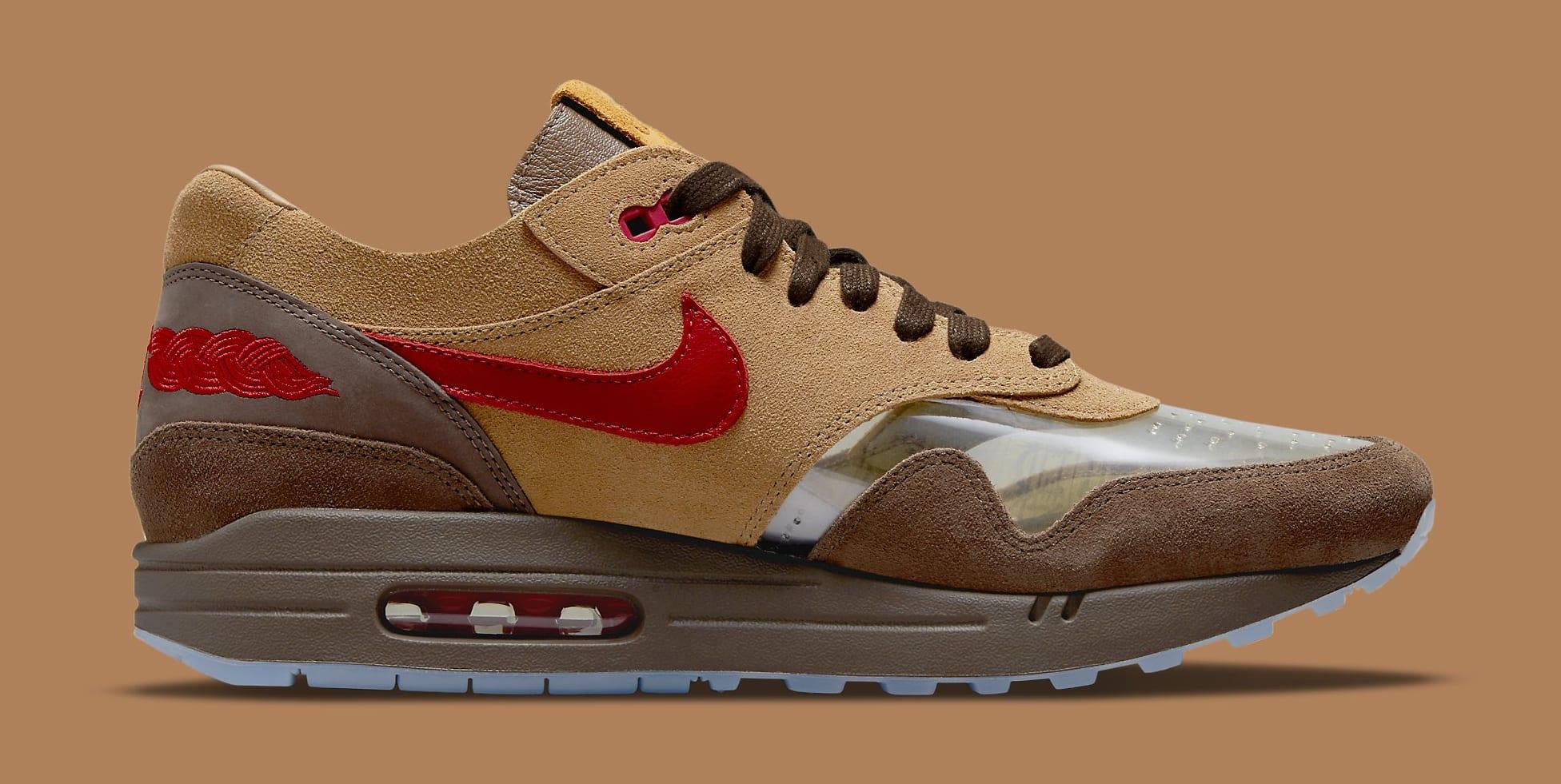 Clot x Nike Air Max 1 'K.O.D. - CHA' DD1870-200 Medial