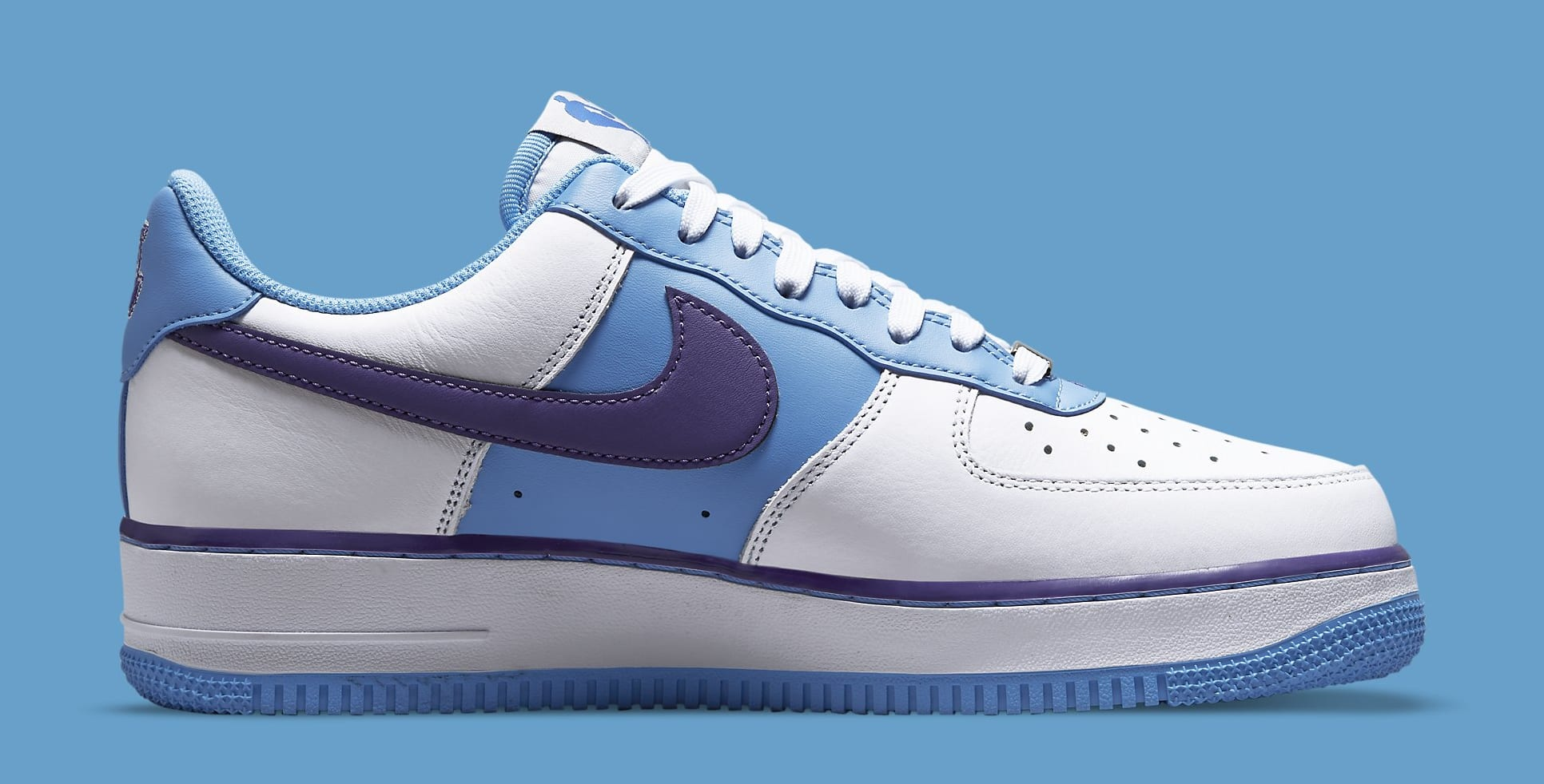 Nike Air Force 1 Low 'Lakers' NBA 75th Anniversary DC8874-101 Medial
