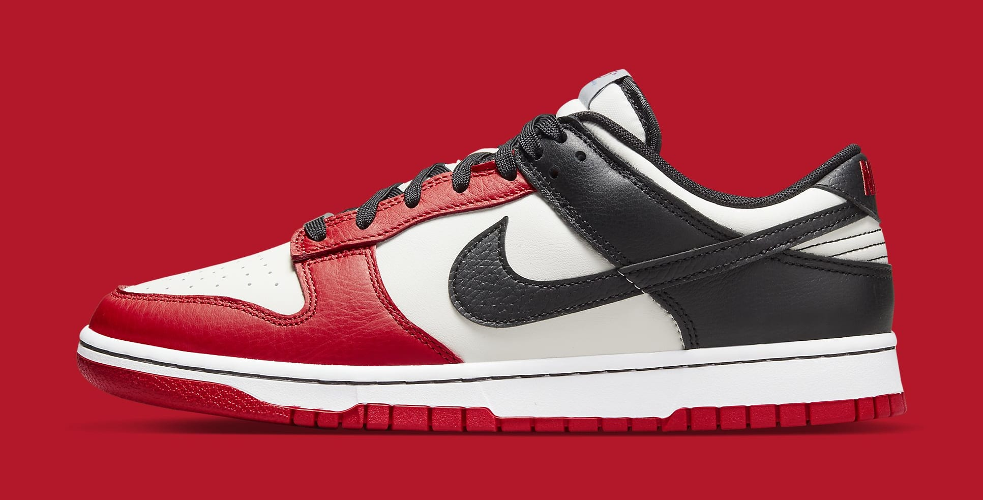 Nike Dunk Low 'NBA 75th Anniversary' DD3363-100 Lateral