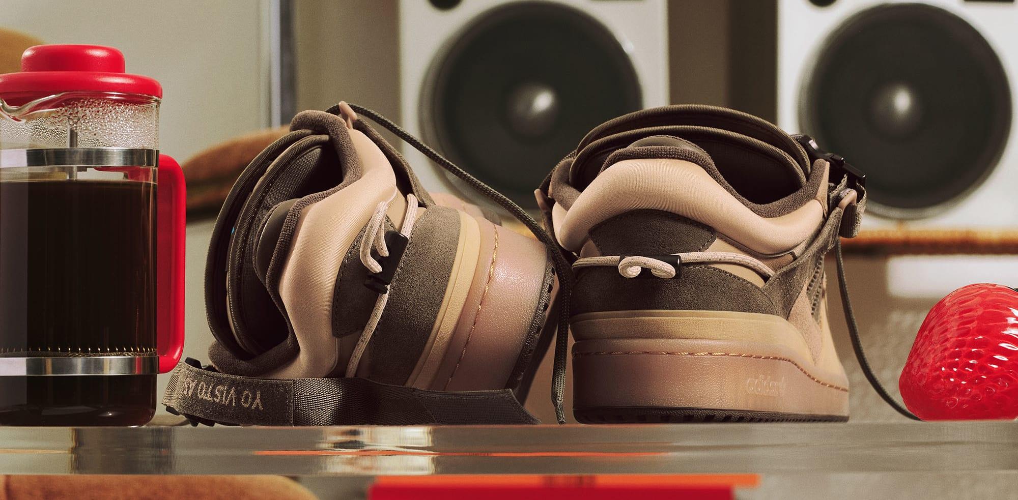 Bad Bunny x Adidas Forum Buckle Low Heel
