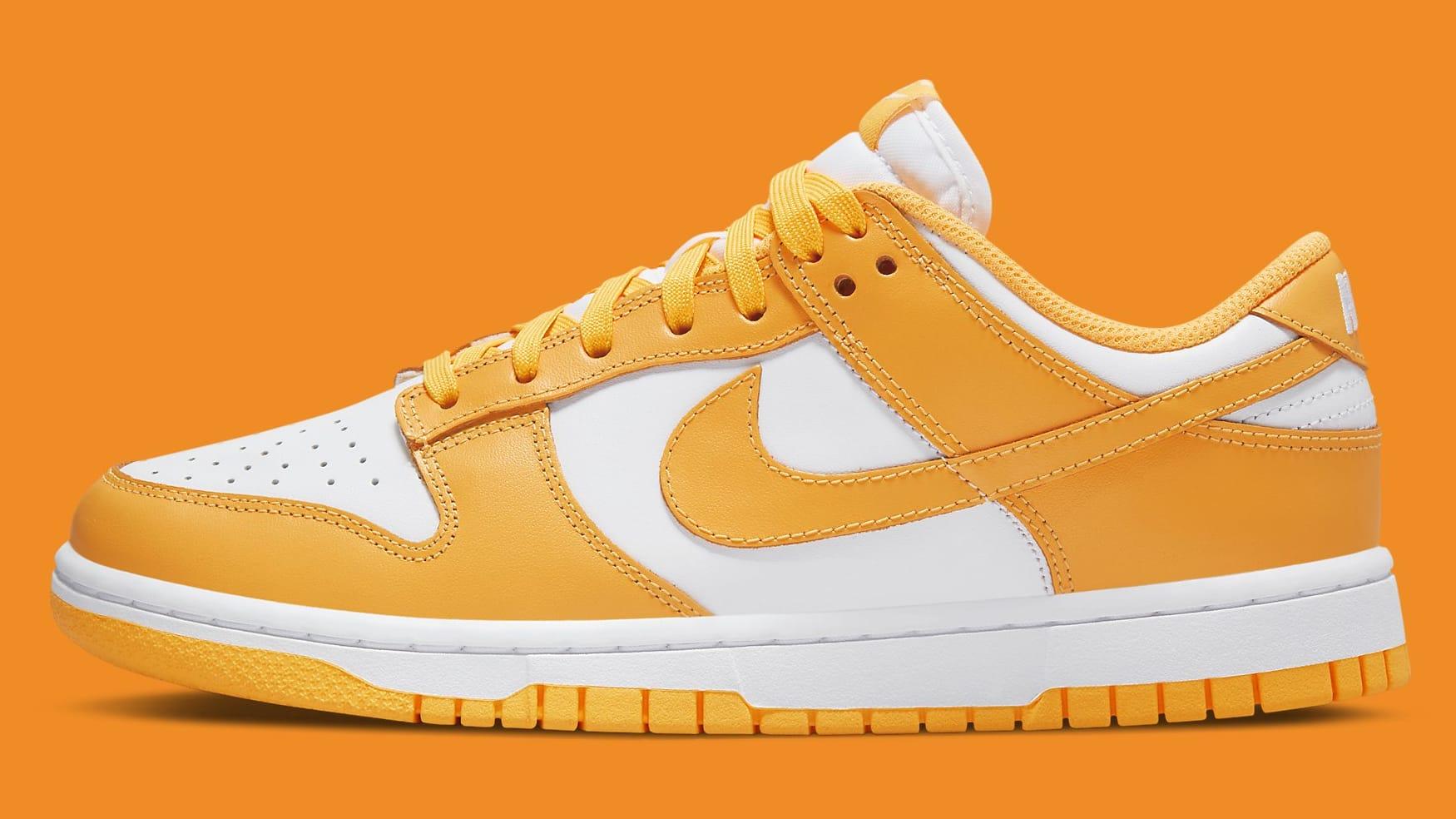 Nike Dunk Low Laser Orange Release Date DD1503-800 Profile