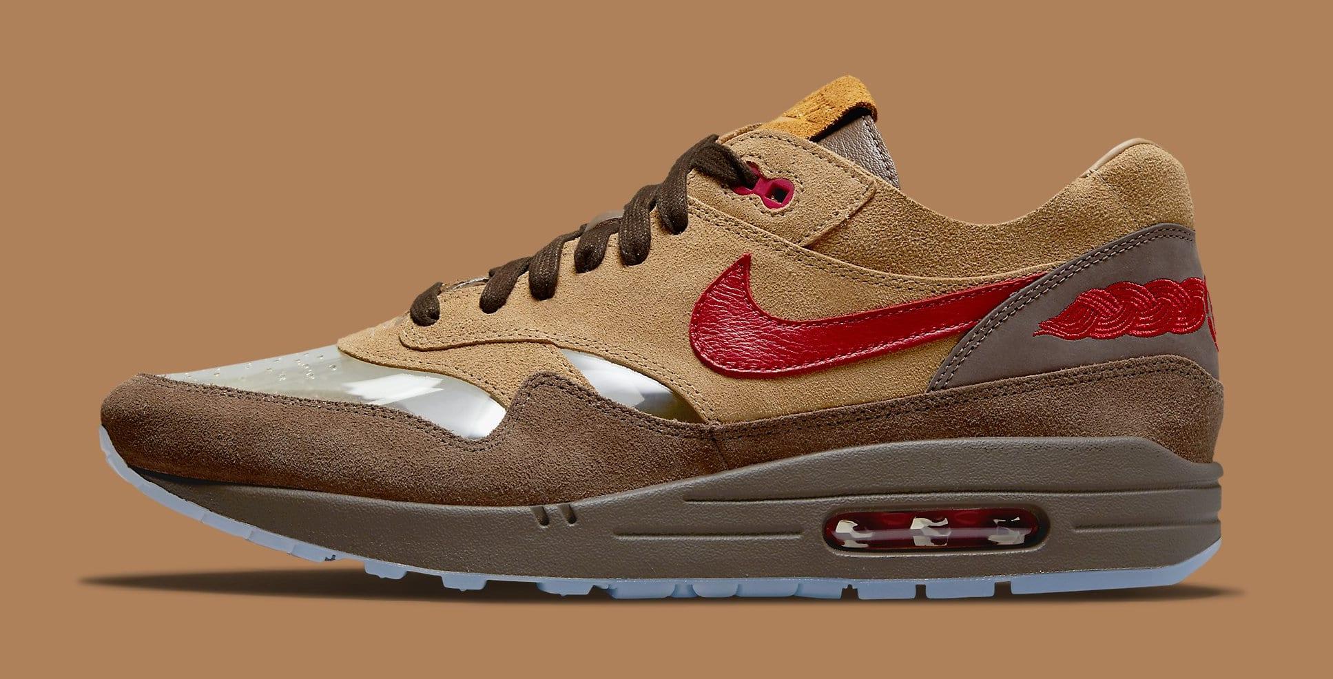 Clot x Nike Air Max 1 'K.O.D. - CHA' DD1870-200 Lateral