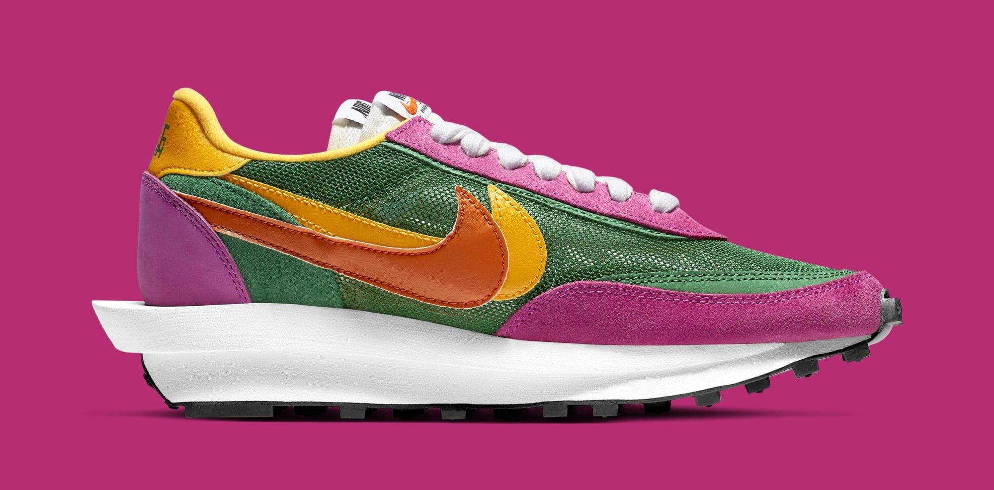 Sacai x Nike LDWaffle BV0073-301 (Medial)
