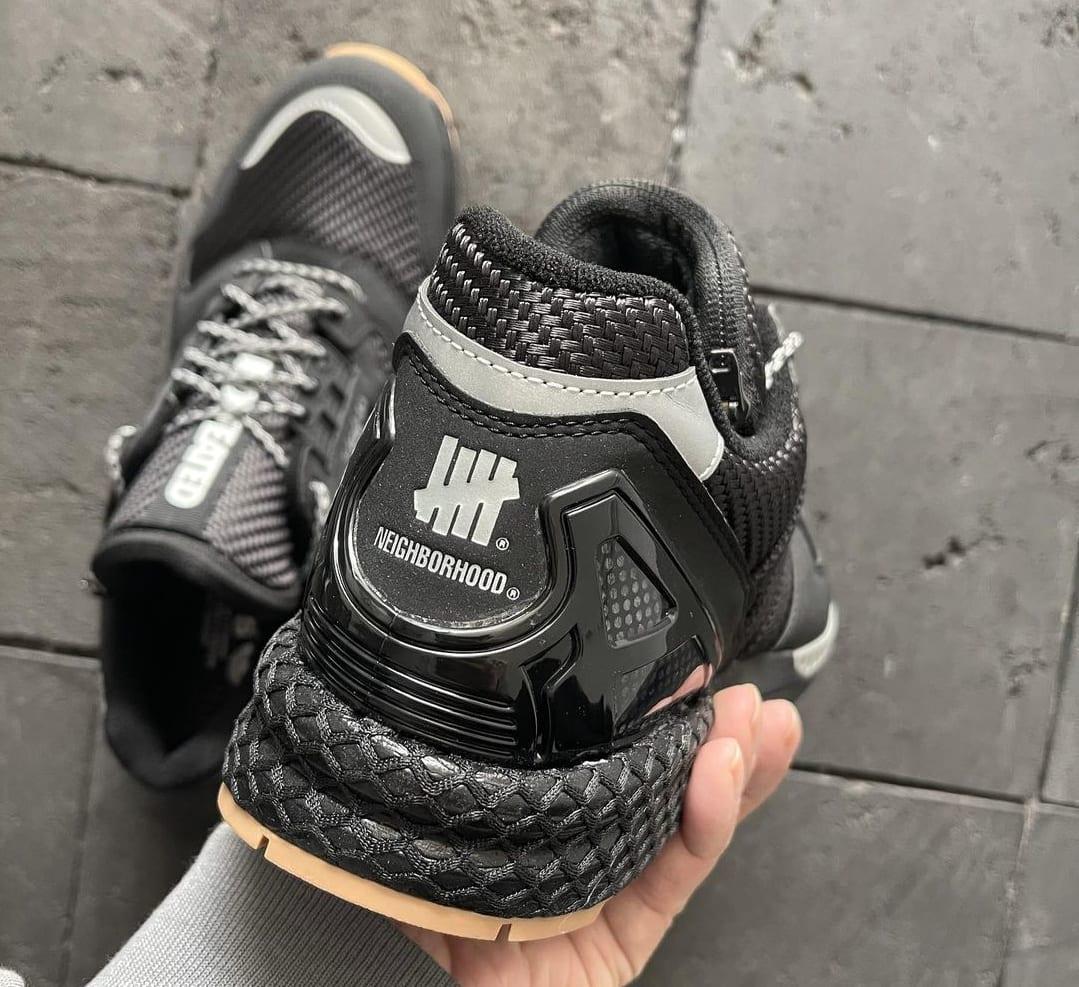 Neighborhood x Undefeated x Adidas ZX 8000 Black