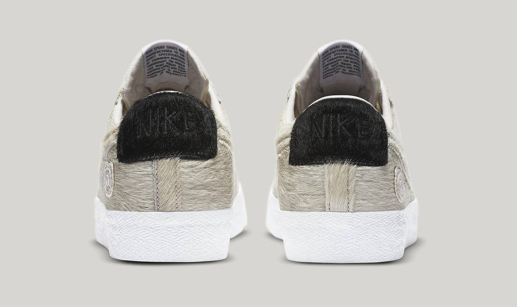 Medicom x Nike SB Blazer Low CZ4620-200 Heel