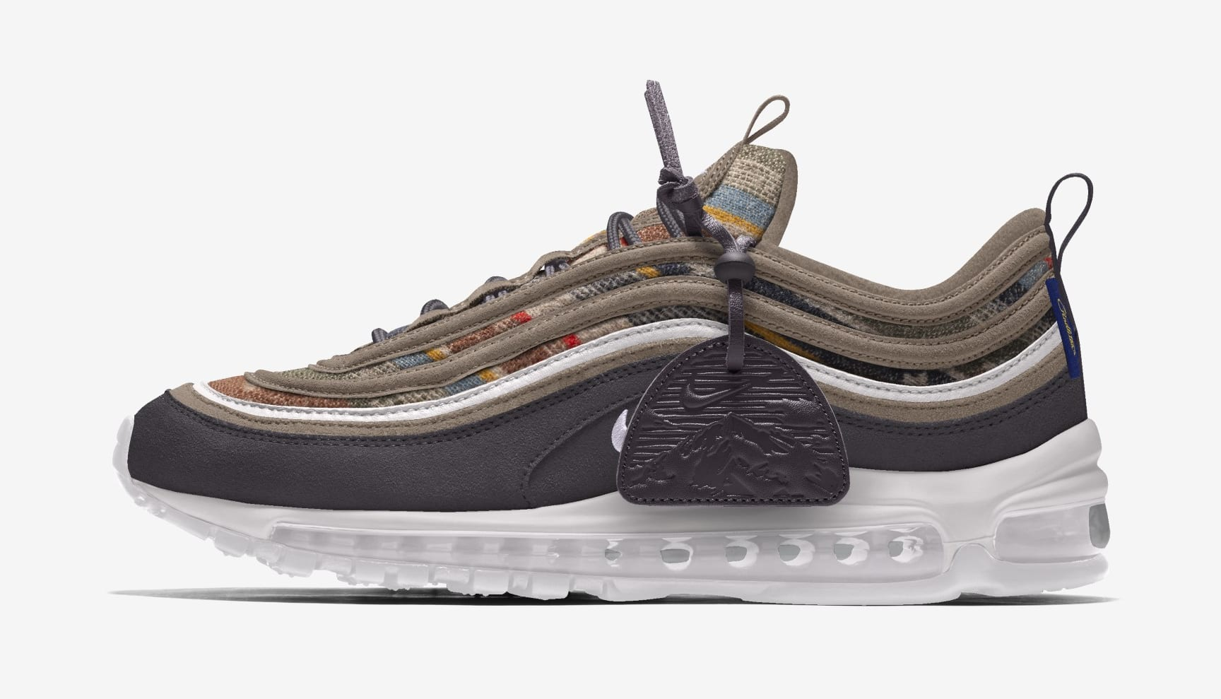 Nike Pendleton Air Max 97 By You Lateral