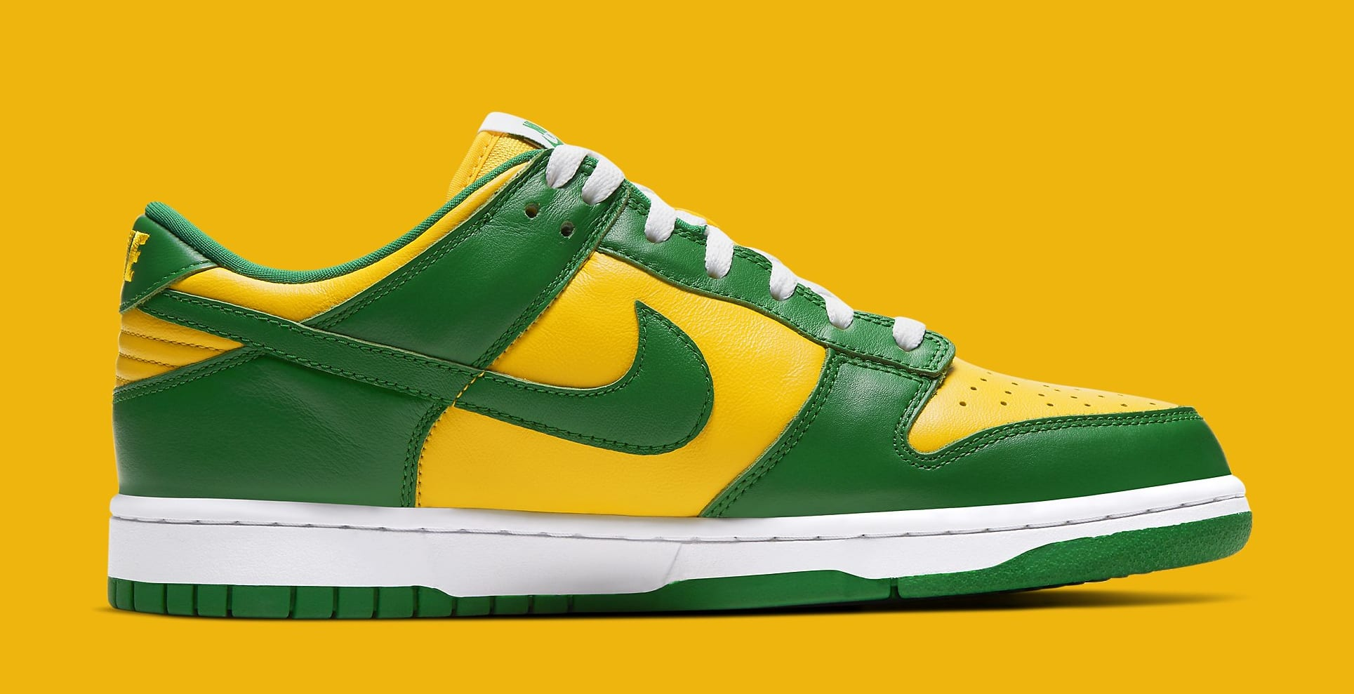 Nike Dunk Low 'Brazil' 2020 CU1727-700 Medial
