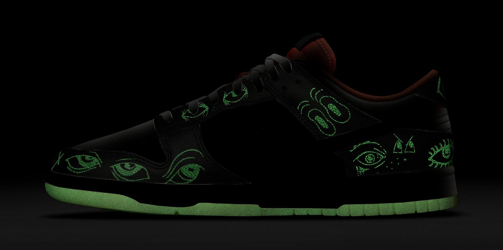 Nike Dunk Low 'Halloween' DD0357-100 Glow-in-the-Dark