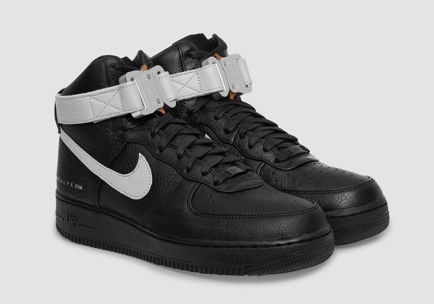 Alyx x Nike Air Force 1 High CQ4018-003 Pair