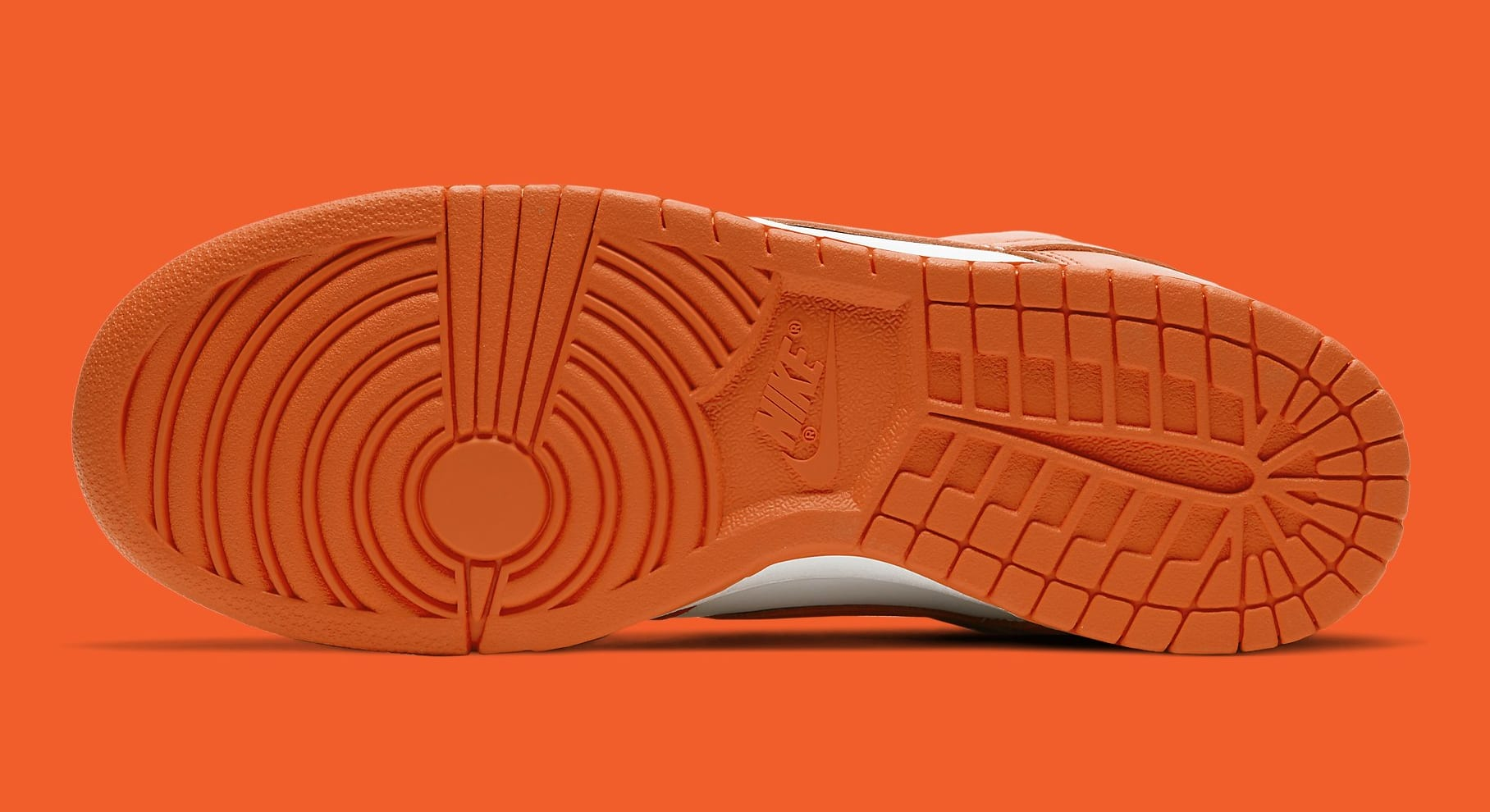 Nike Dunk Low Syracuse Release Date CU1726-101 Sole