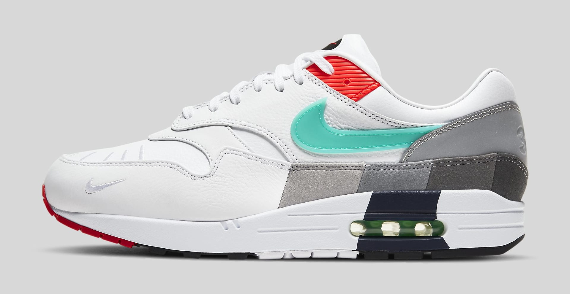 Nike Air Max 1 'Evolutions of Icons' CW6541-100 Lateral