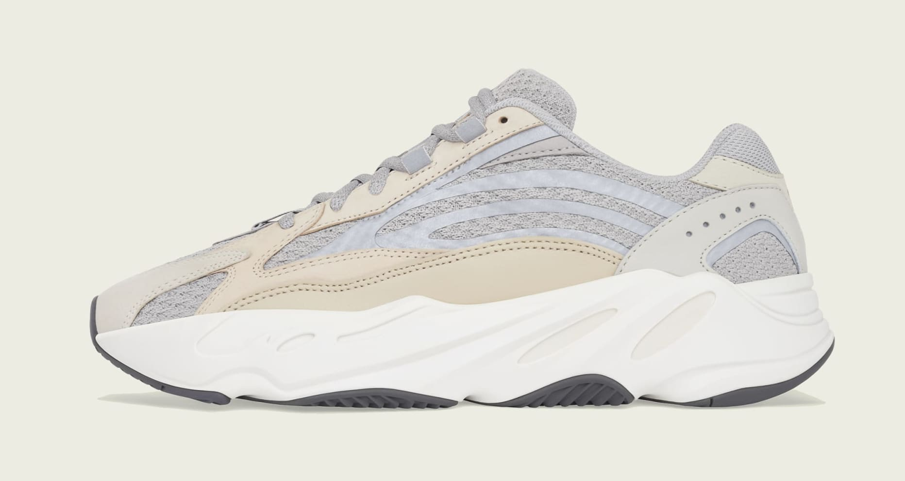 Adidas Yeezy Boost 700 V2 'Cream' GY7924 Lateral