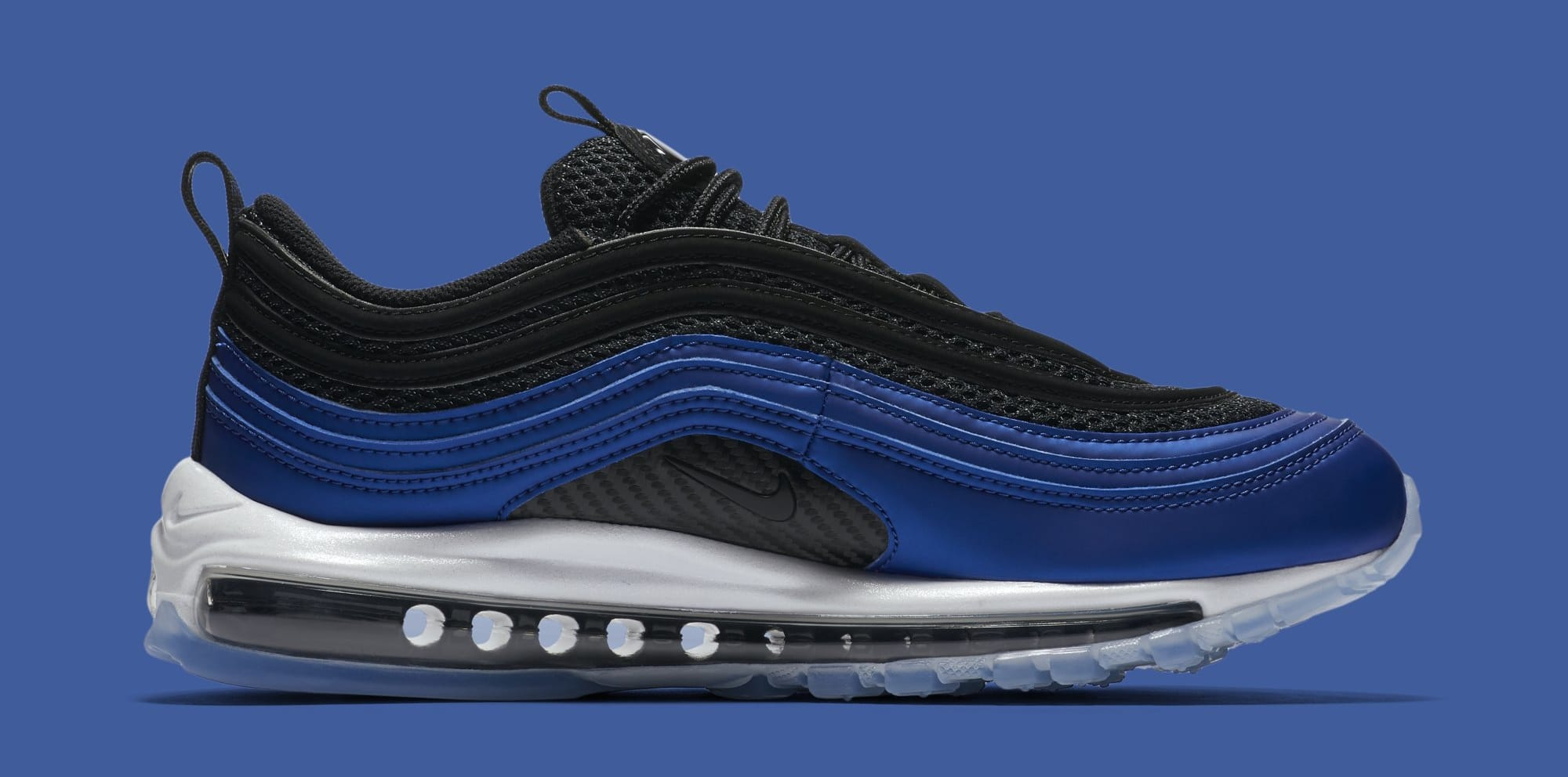 Nike Air Max 97 Foamposite Game Royal White Black Ci5011 400