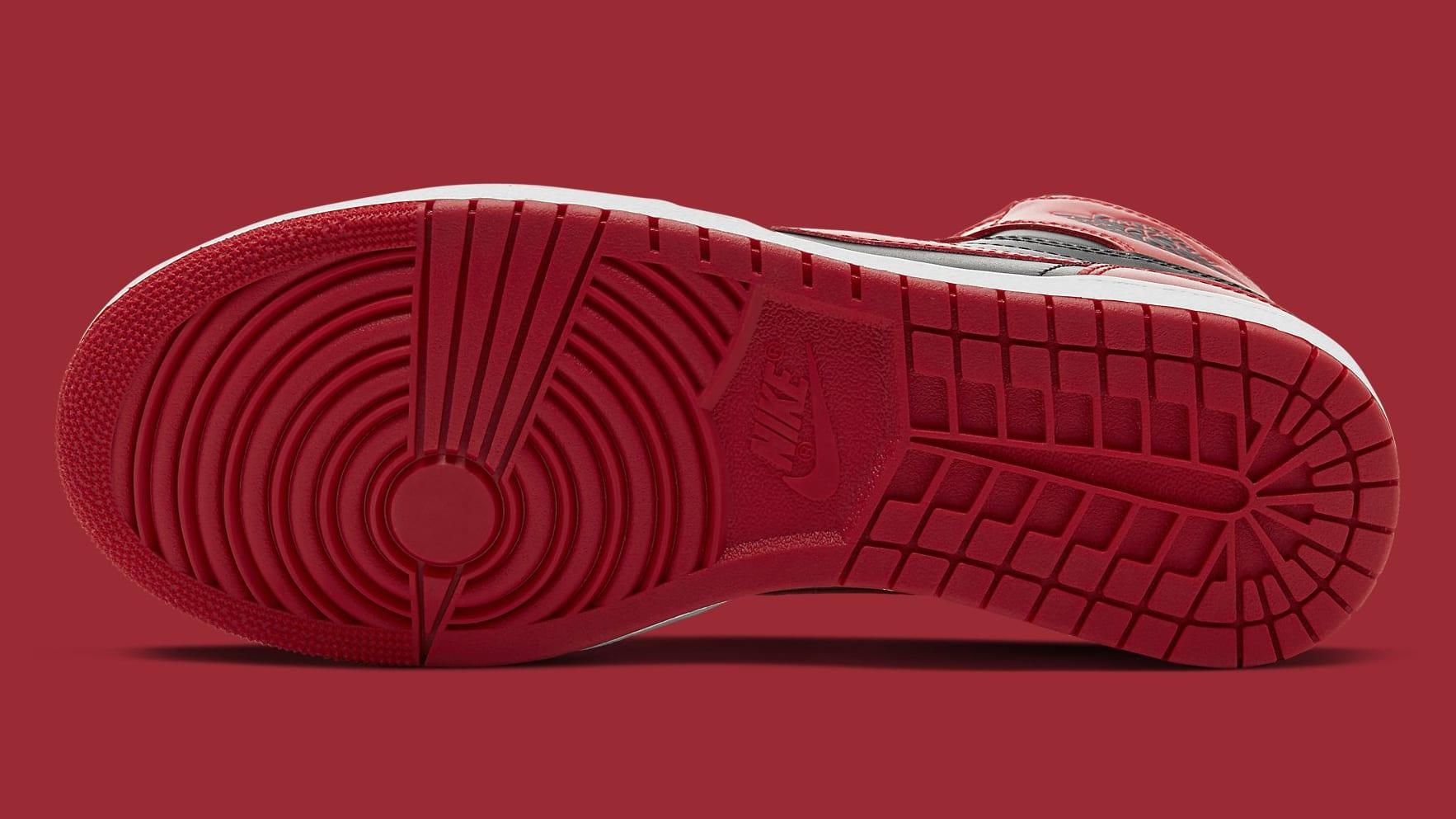 Air Jordan 1 High New Beginnings Varsity Red Release Date BQ4422-600 Sole