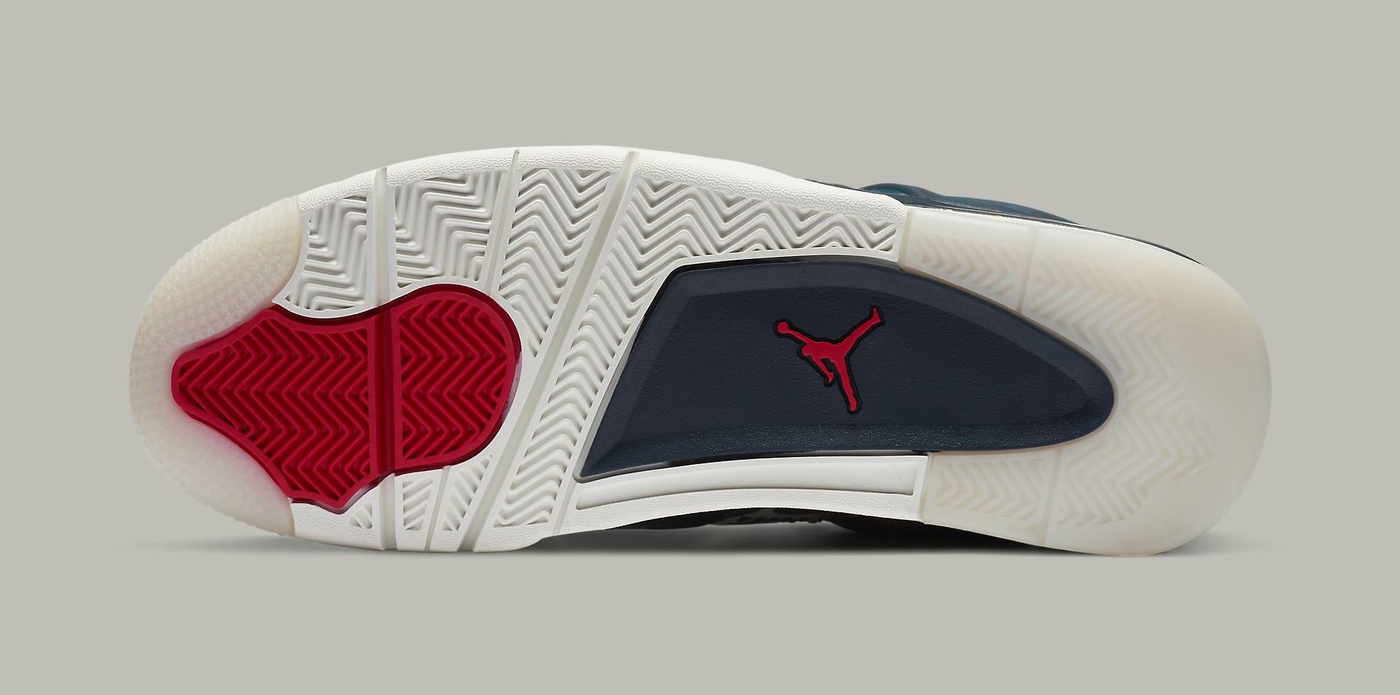 Air Jordan 4 Retro SE 'Sashiko' CW0898-400 Outsole