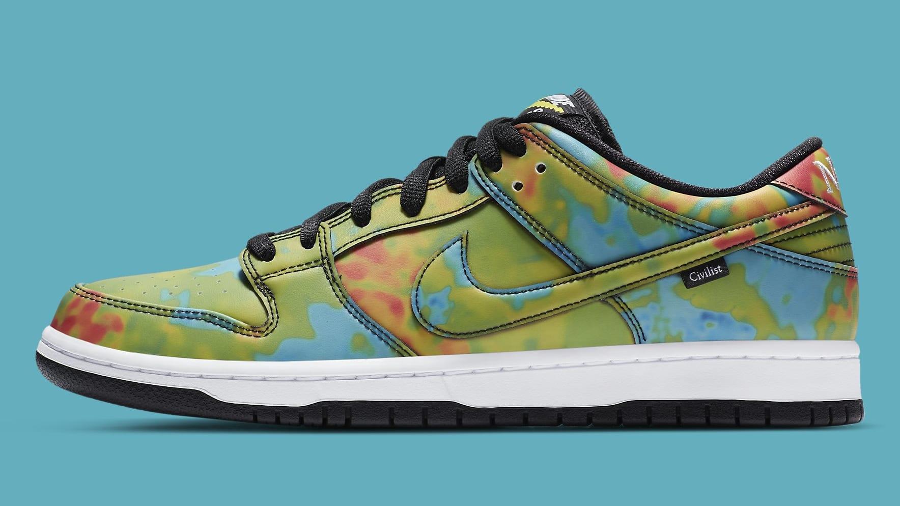 Civilist x Nike SB Dunk Low Pro QS CZ5123-001 Release Date ...