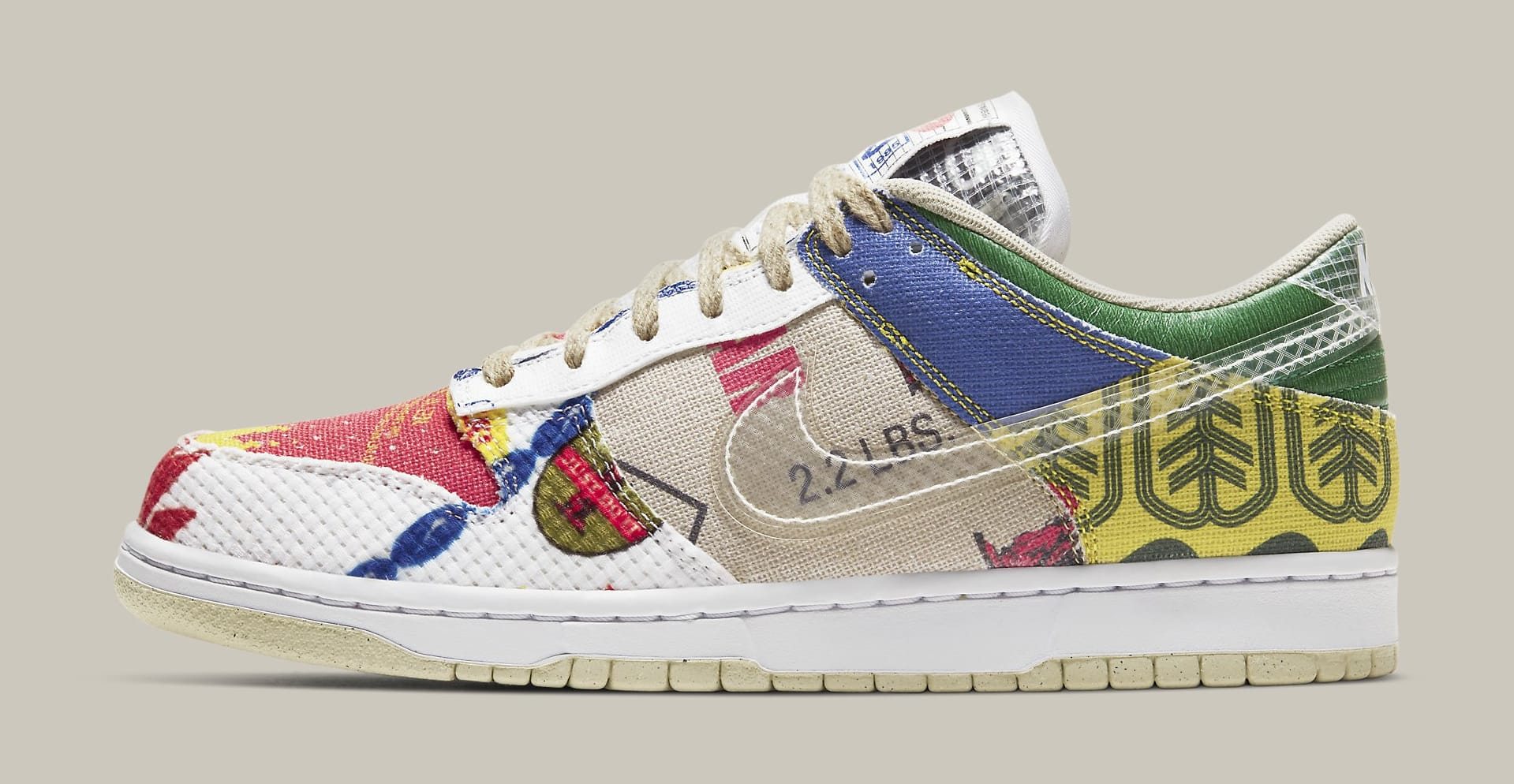 Nike Dunk Low 'City Market' DA6125-900 Lateral