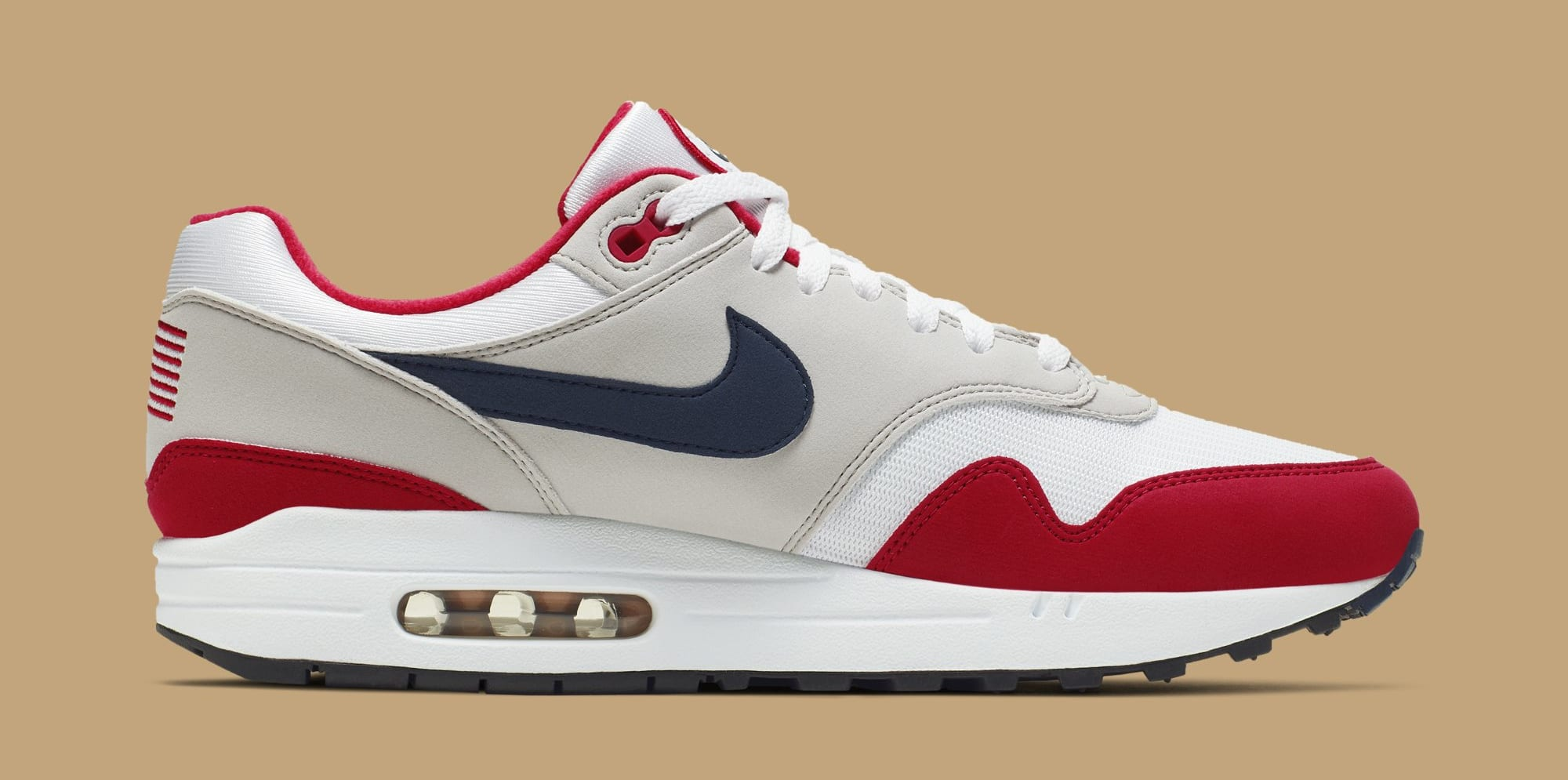 Nike Air Max 1 'Fourth of July' CJ4283-100 (Medial)