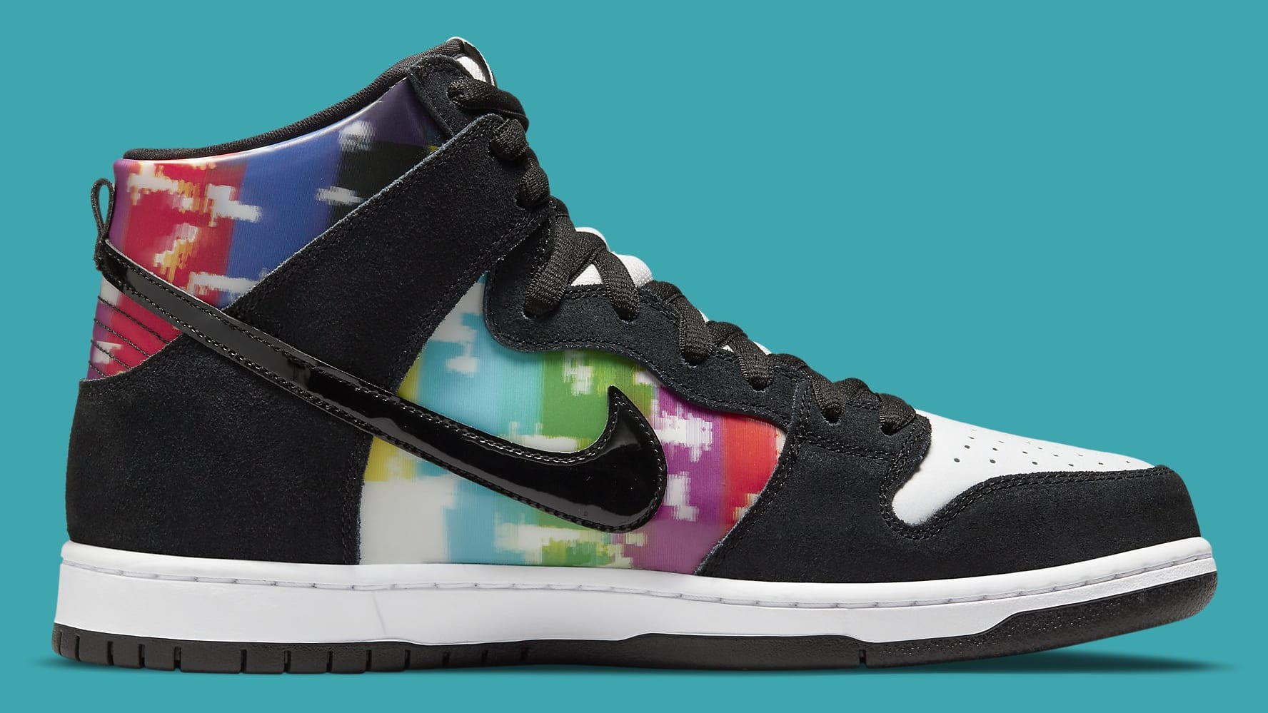 Nike SB Dunk High TV Signal Release Date CZ2253-100 Medial