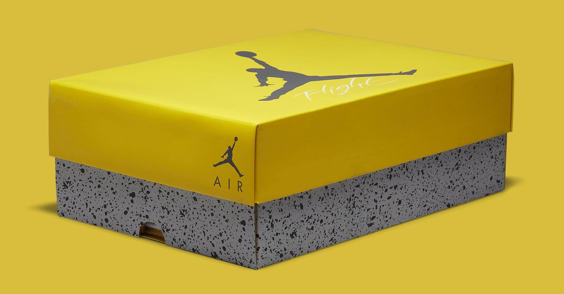 Air Jordan 4 Retro 'Lightning' CT8527-700 Box