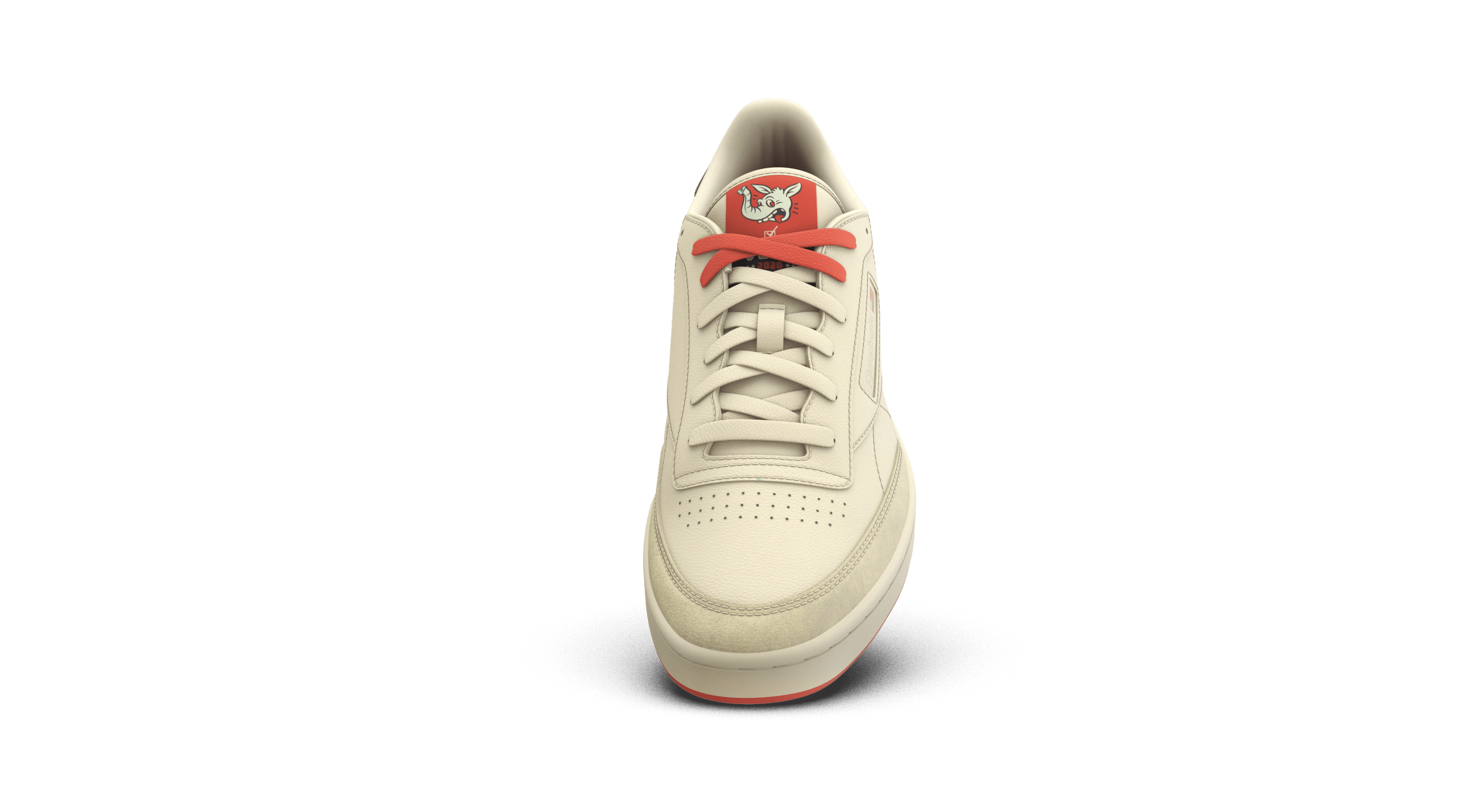 Reebok Club C 'Vote' First Pitch Front