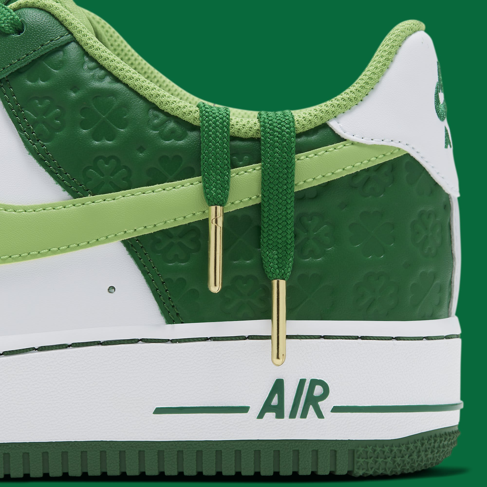 Nike Air Force 1 Low 'St. Patrick's Day' DD8458-300 Shoelaces