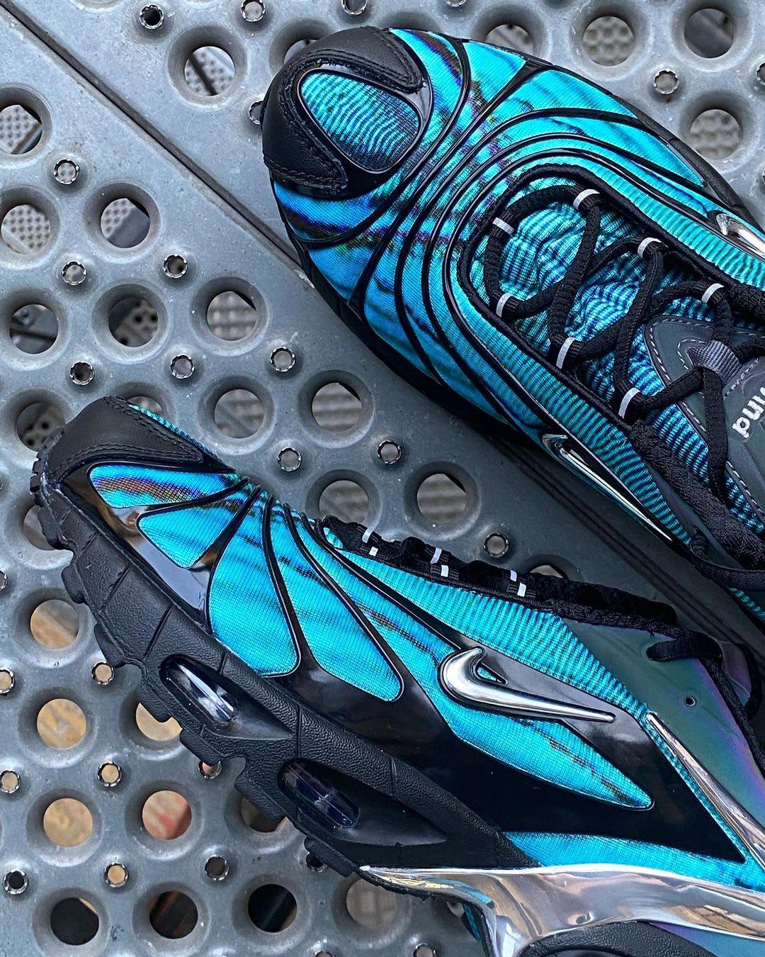 Skepta x Nike Air Tailwind V 'Blue' (Detail)