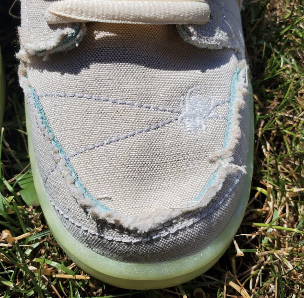 Nike SB Dunk Low Mummy Halloween DM0774-111 Toe