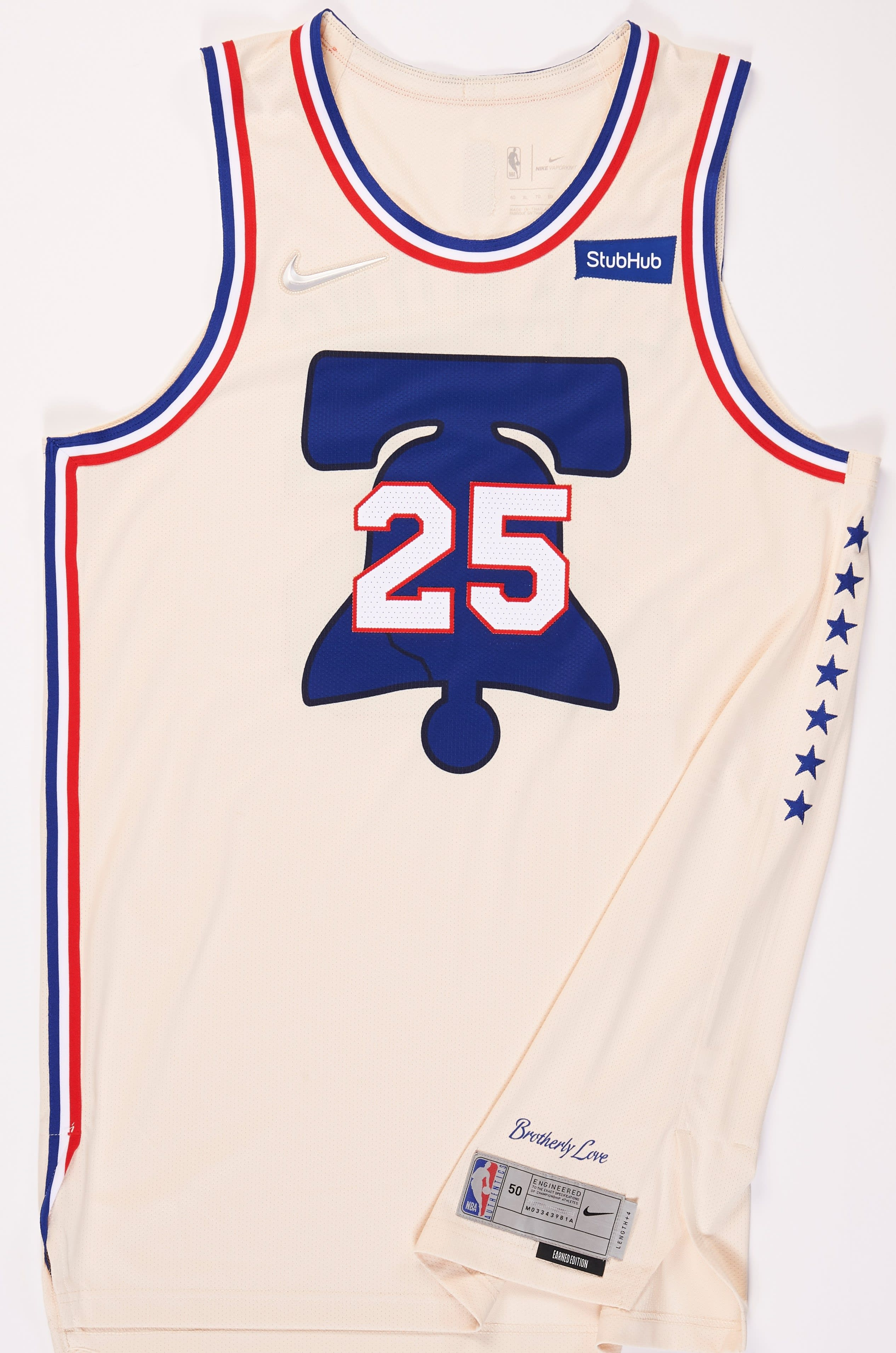 Philadelphia 76ers 2020-21 Earned Jersey
