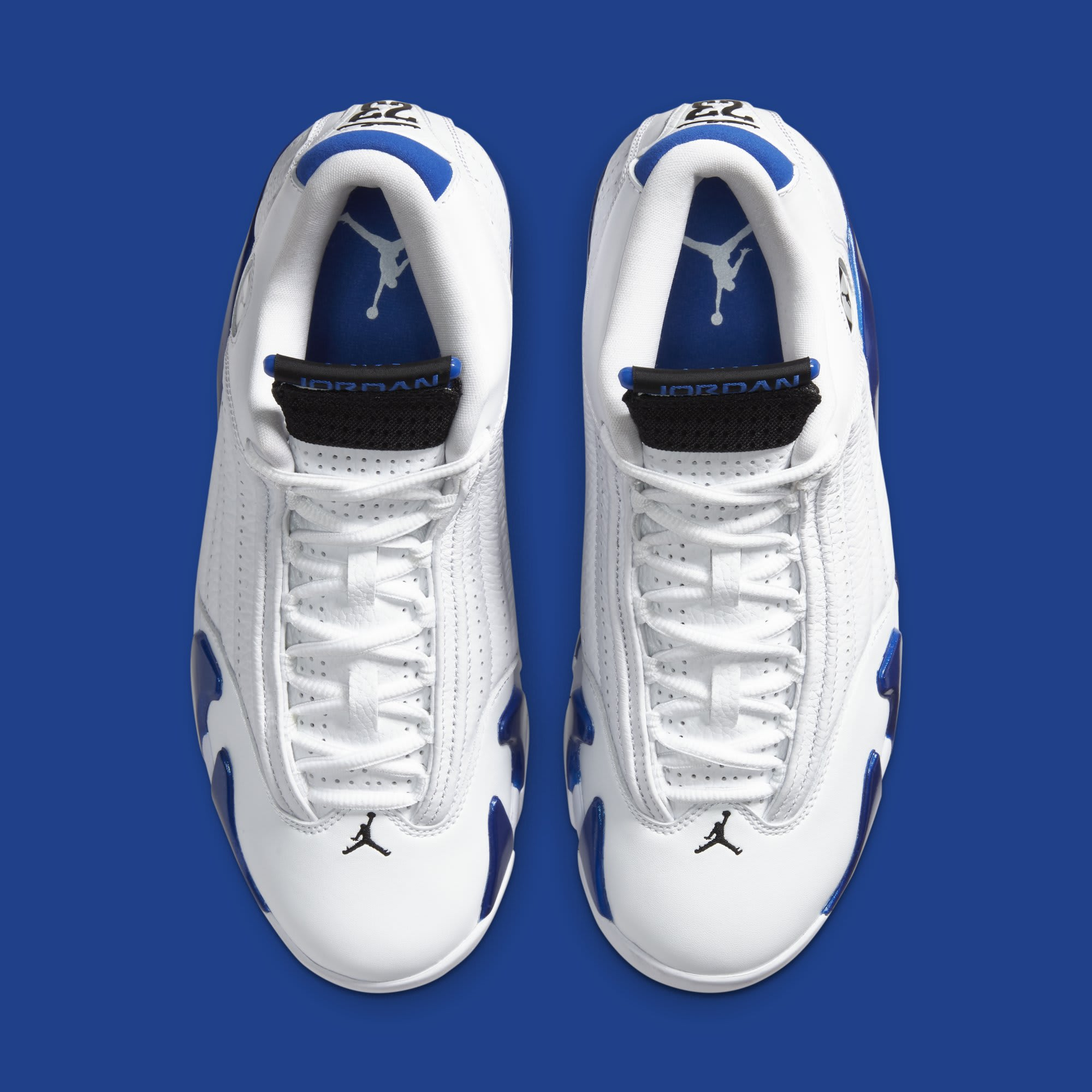 Air Jordan 14 Retro 'Hyper Royal' 487471-104 (Top)