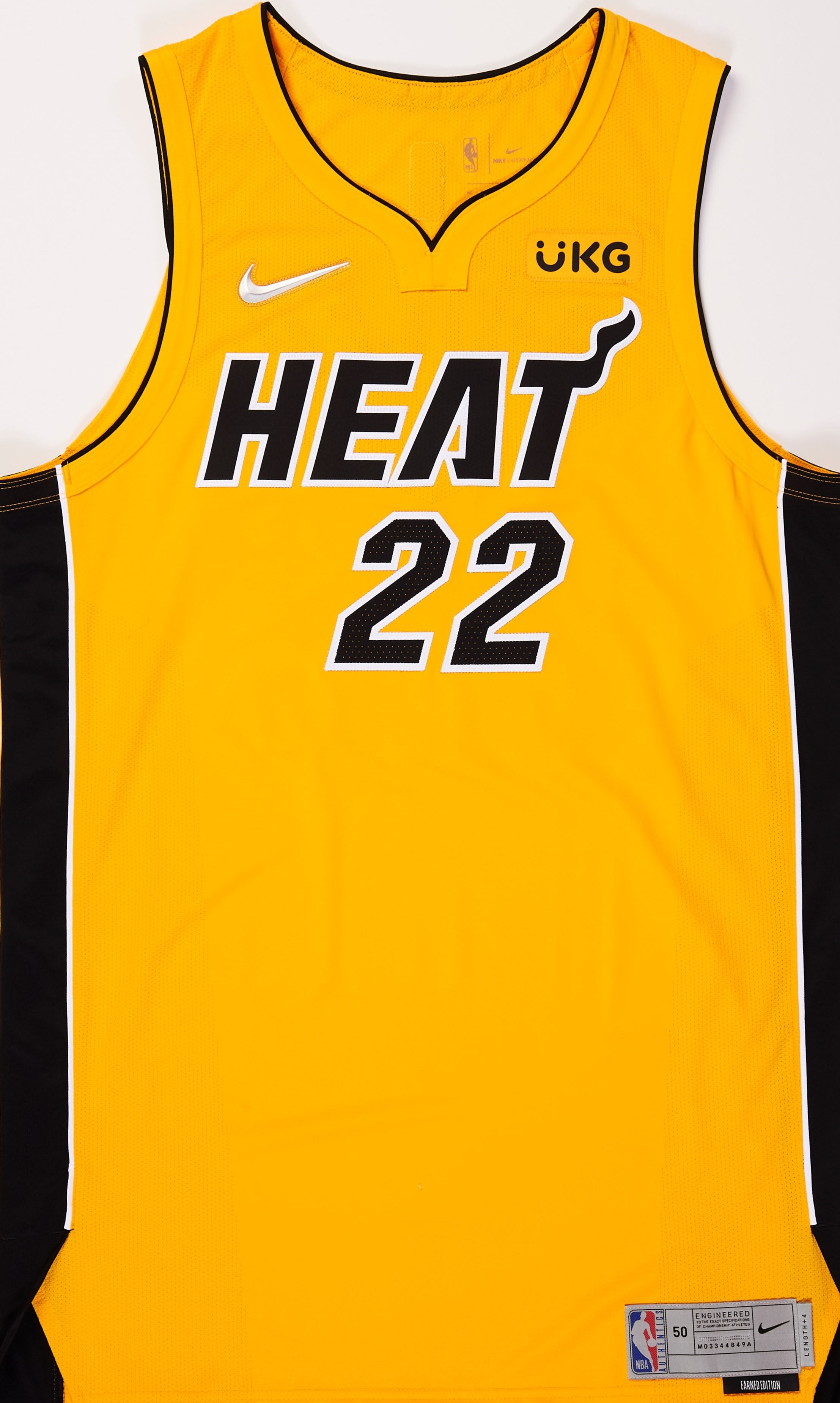 Miami Heat 2020-21 Earned Jersey