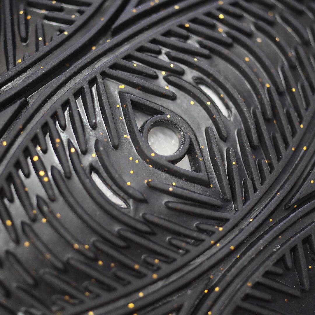 Nike Kyrie 5 Black Metallic Gold White Release Date AO2918-007 Outsole Third Eye