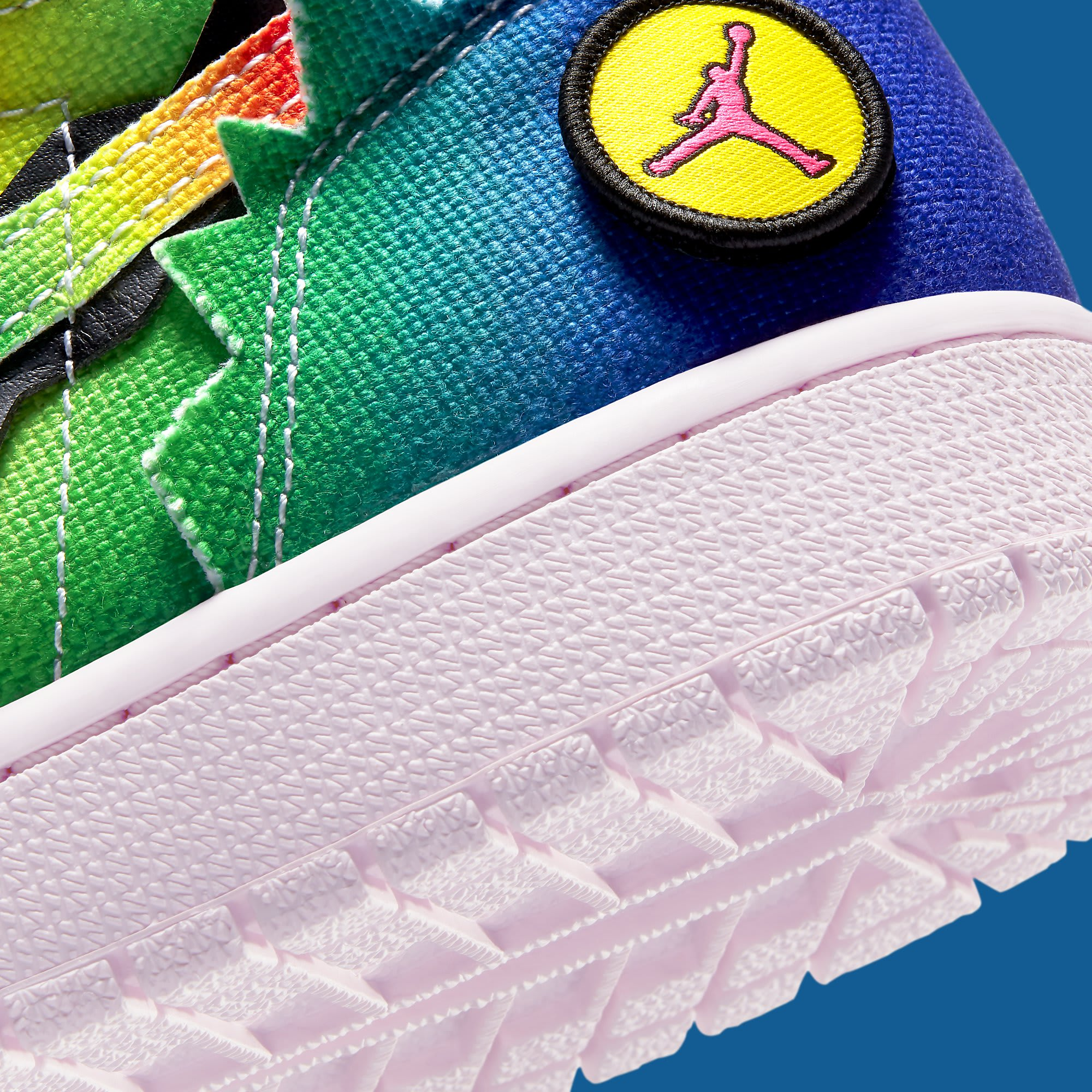 J Balvin x Air Jordan 1 High DC3481-900 Heel