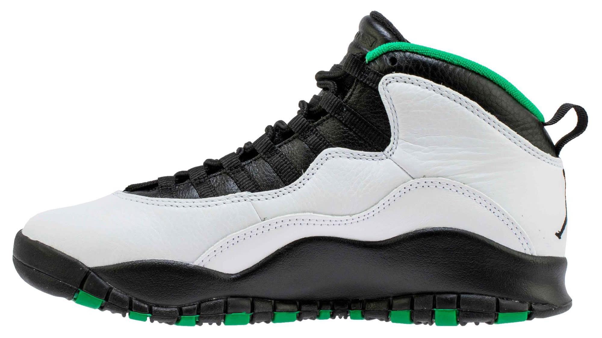 Air Jordan 10 Seattle Release Date 310805-137 Medial