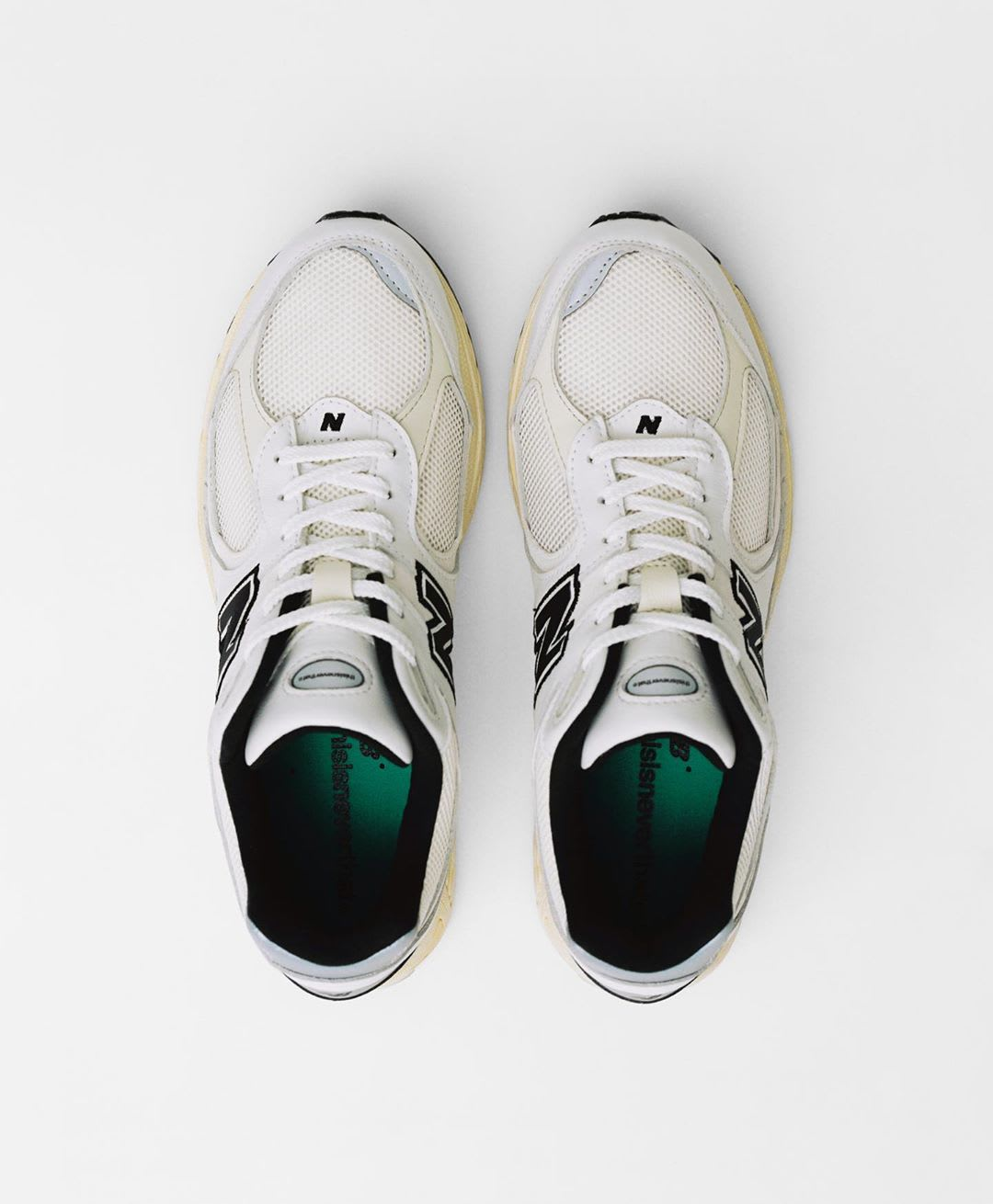 thisisneverthat x New Balance 2002R White Top