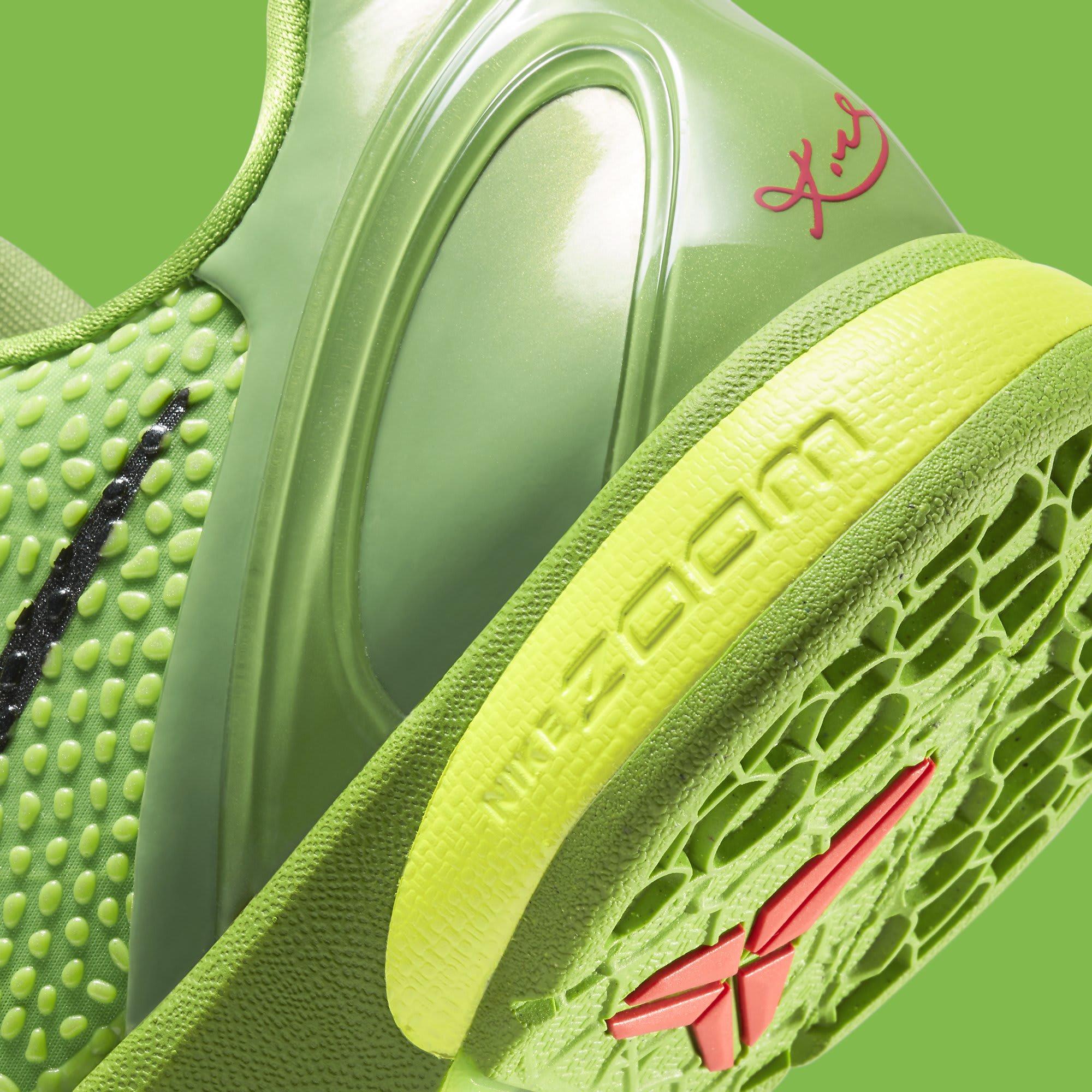 Nike Kobe 6 Protro 'Grinch' CW2190-300 Heel