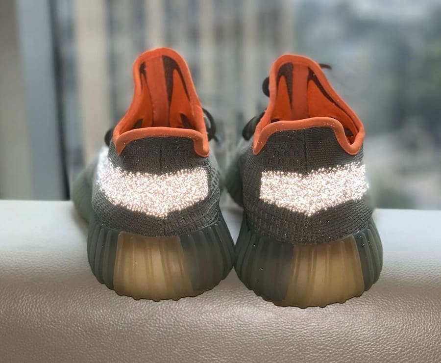 Adidas yeezy 350 V2 desert sage release date fx9035 heel