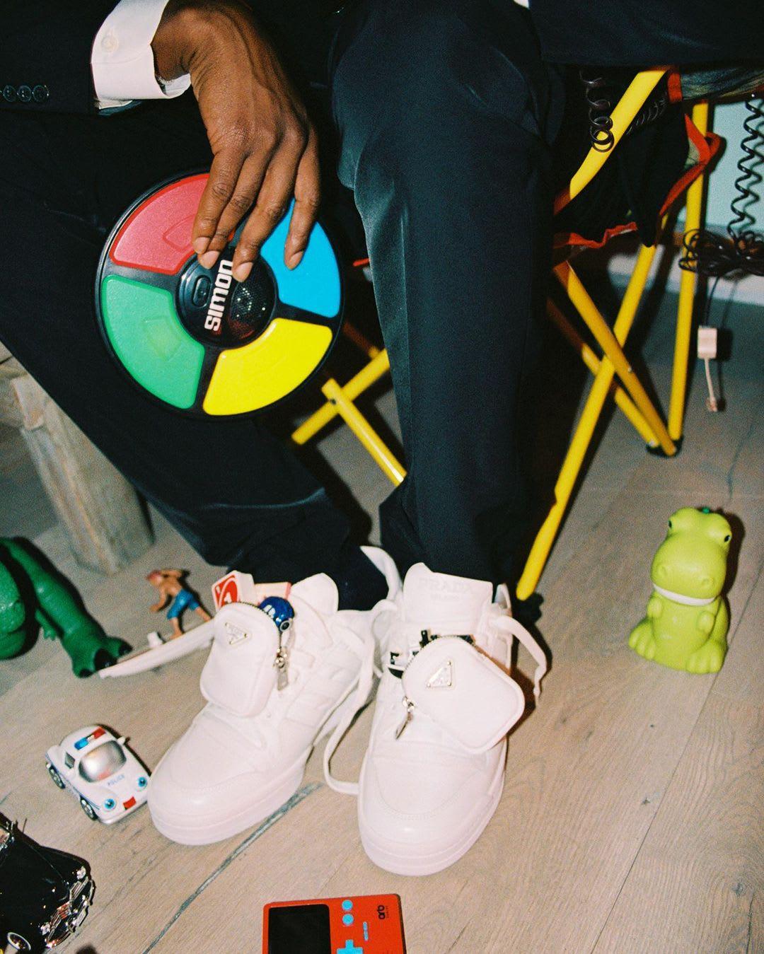 ASAP Rocky Prada x Adidas Forum Lo Preview