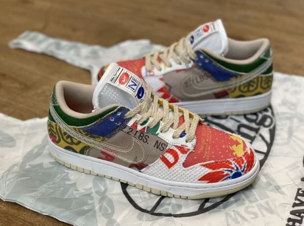 Nike Dunk Low 'Thank You For Caring' DA6125-900 Lateral