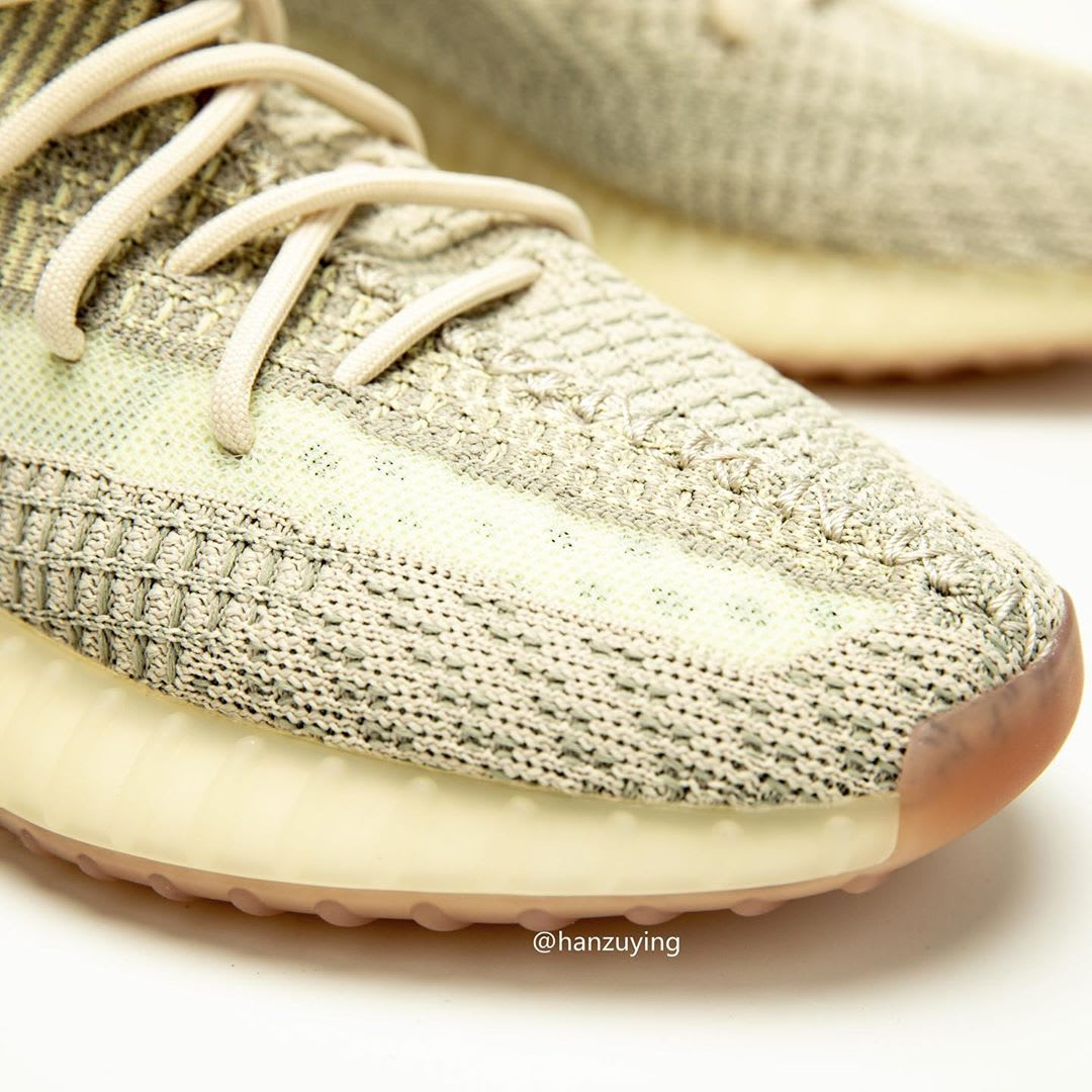 Adidas Yeezy Boost 350 V2 Citrin Release Date FW3043 Toe