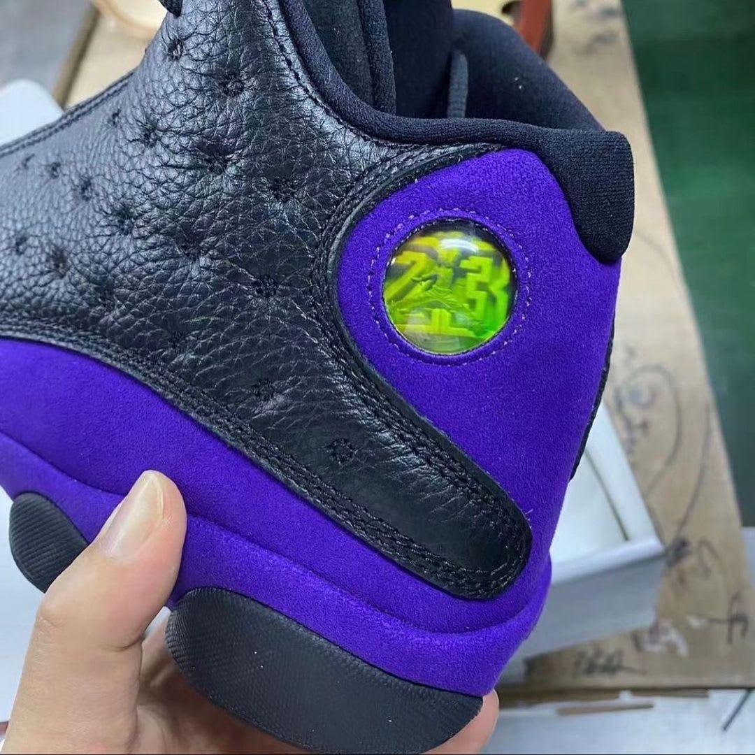 Air Jordan 13 Retro 'Court Purple' DJ5982-015 Heel