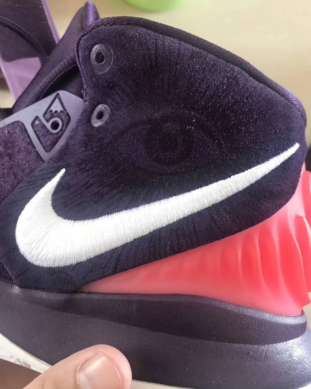 Nike Kyrie 6 Grand Purple Release Date BQ4630-500 Collar